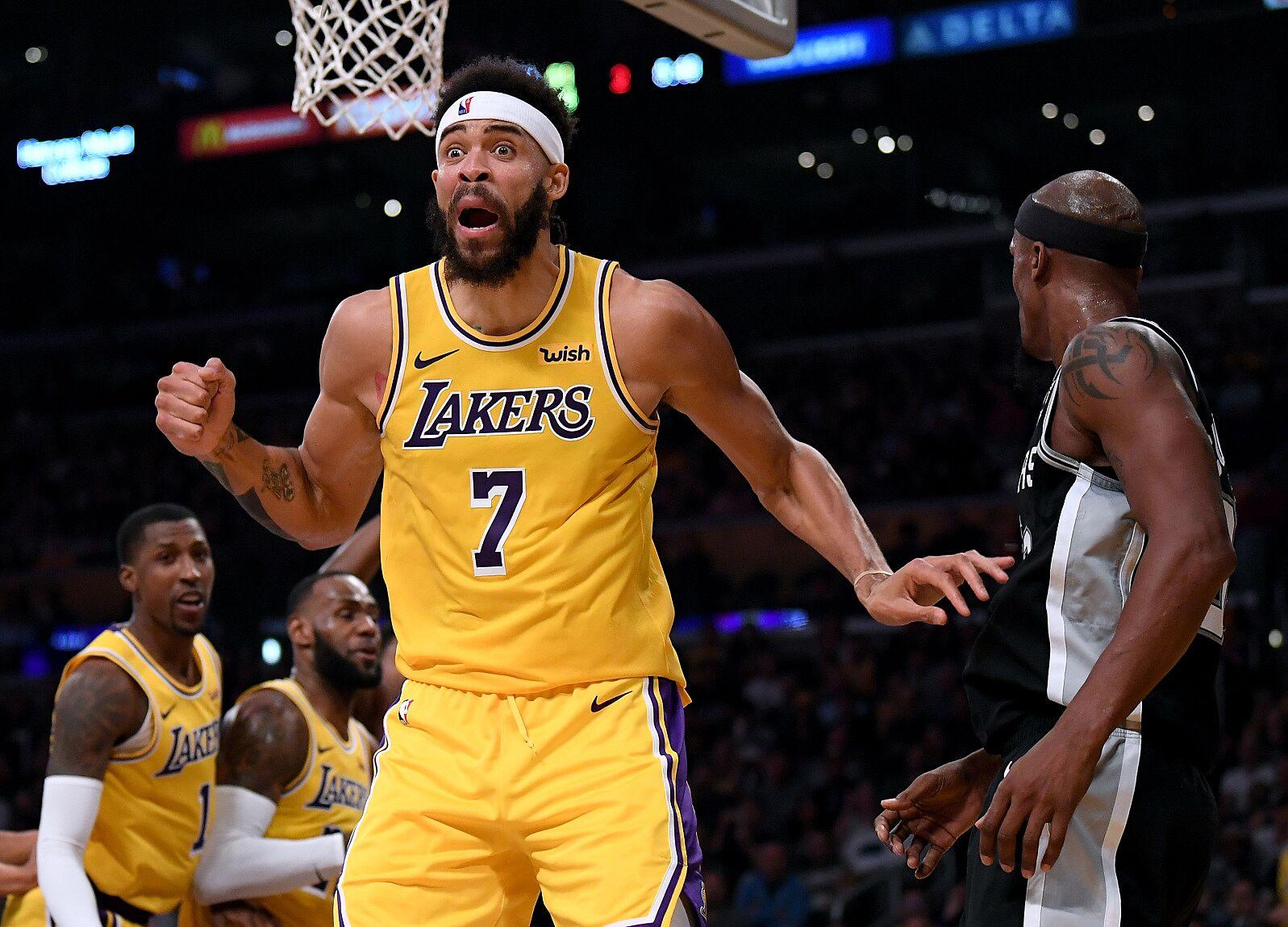 Risultati immagini per JAVALE MCGEE, Los Angeles Lakers