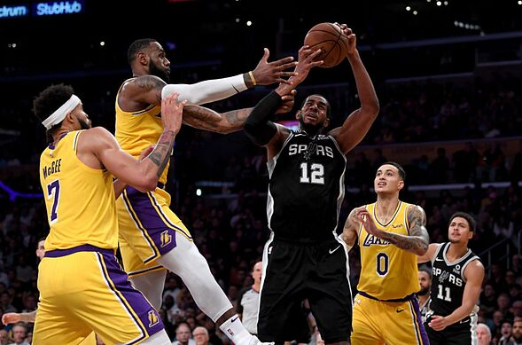 30d84c3c8ba Los Angeles Lakers Report Card  Game 3 vs. San Antonio Spurs