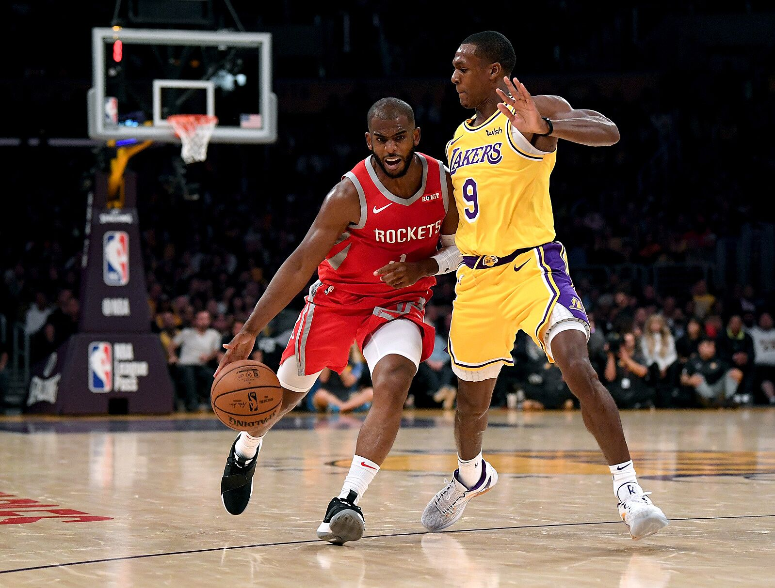 Los Angeles Lakers Report: Was Rajon Rondo telling truth about Chris Paul?