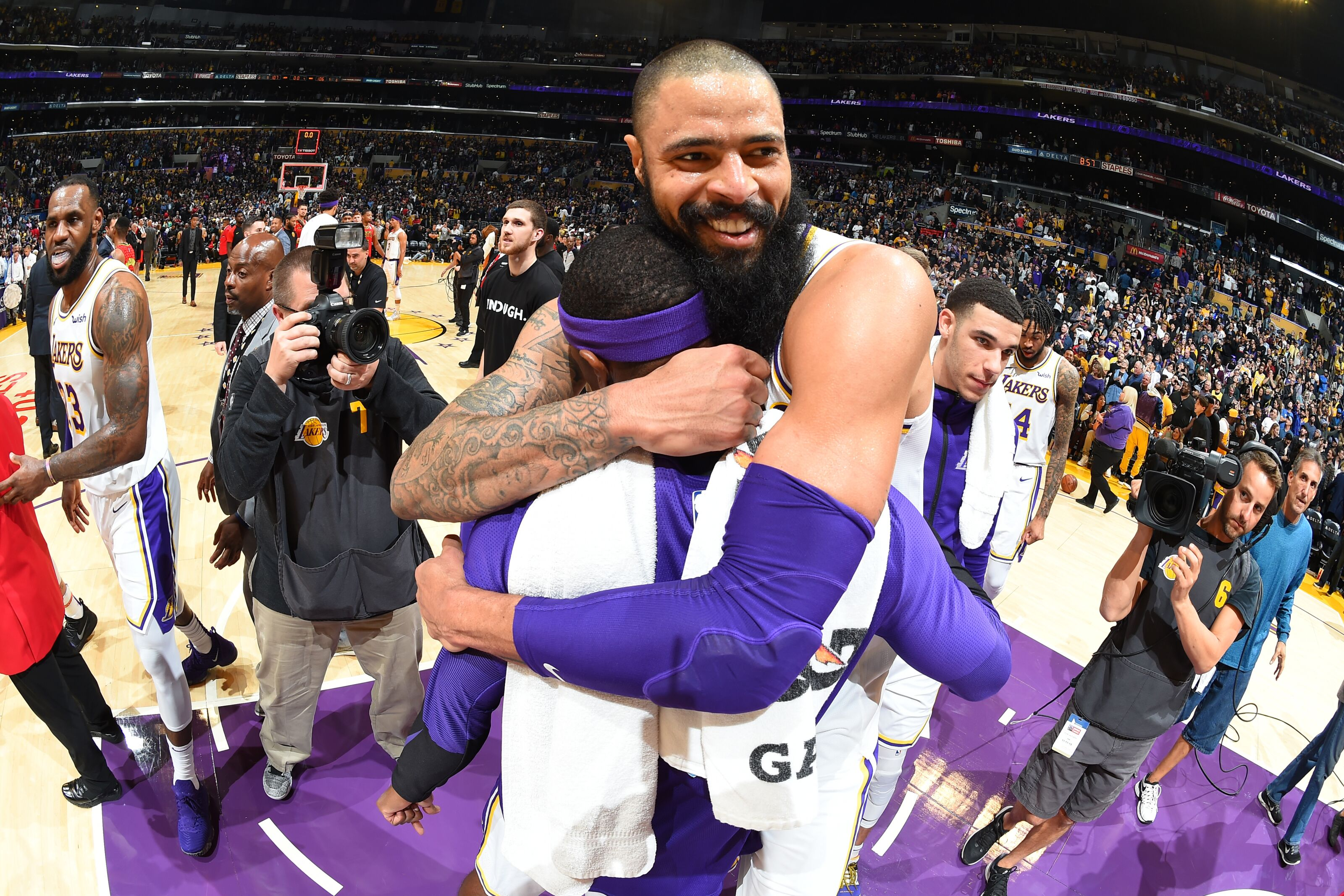 Los Angeles Lakers move up NBA Power Rankings