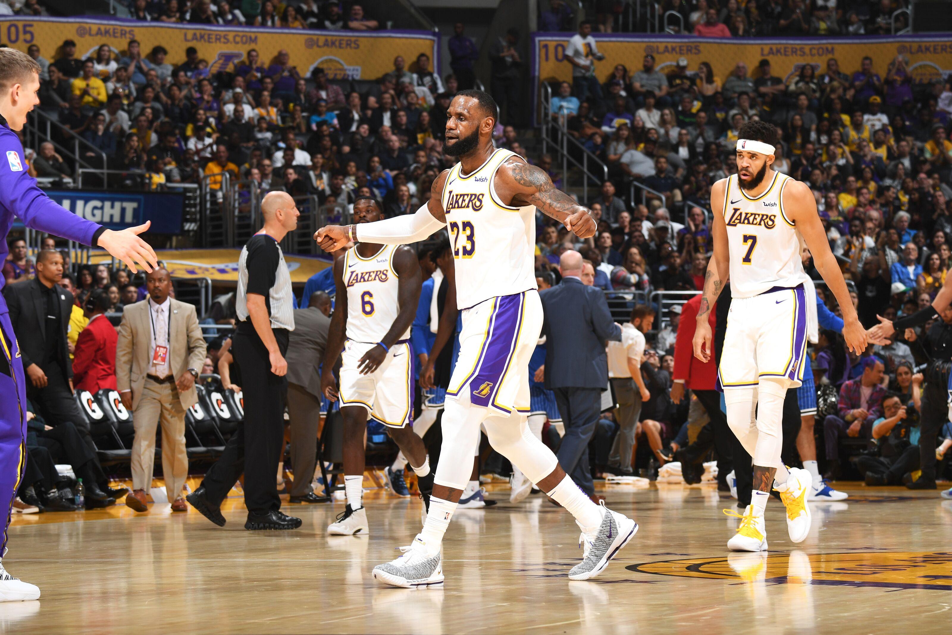 7f921a41a Los Angeles Lakers make a jump up NBA Power Rankings