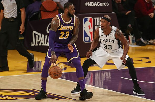 616fc016948 Los Angeles Lakers  4 lessons from Game 24 vs San Antonio Spurs