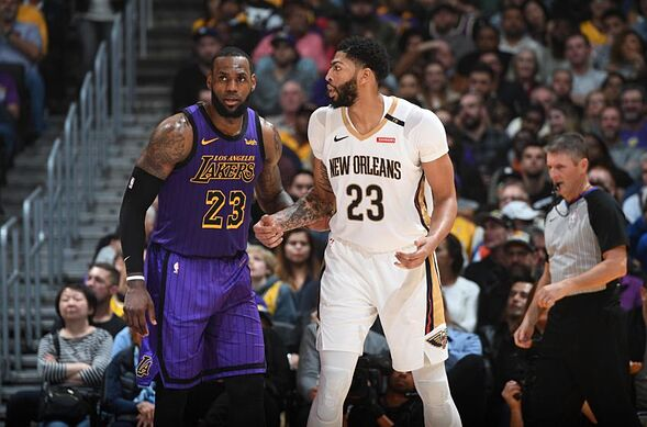 27067ed6d Lakers Rumors  LeBron James takeover begins with Anthony Davis