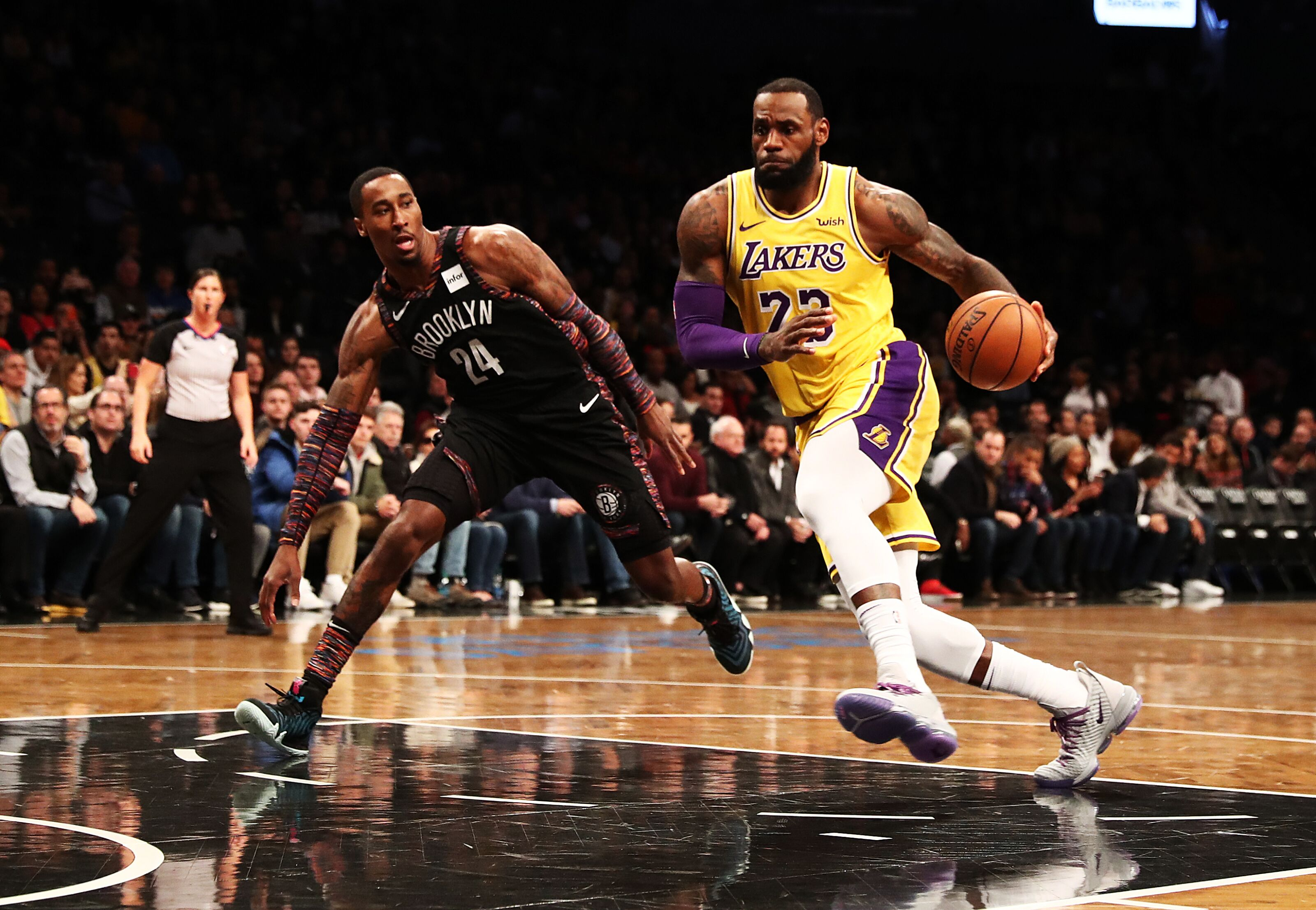 911cce259dde Los Angeles Lakers  3 Lessons from the loss to the Brooklyn Nets
