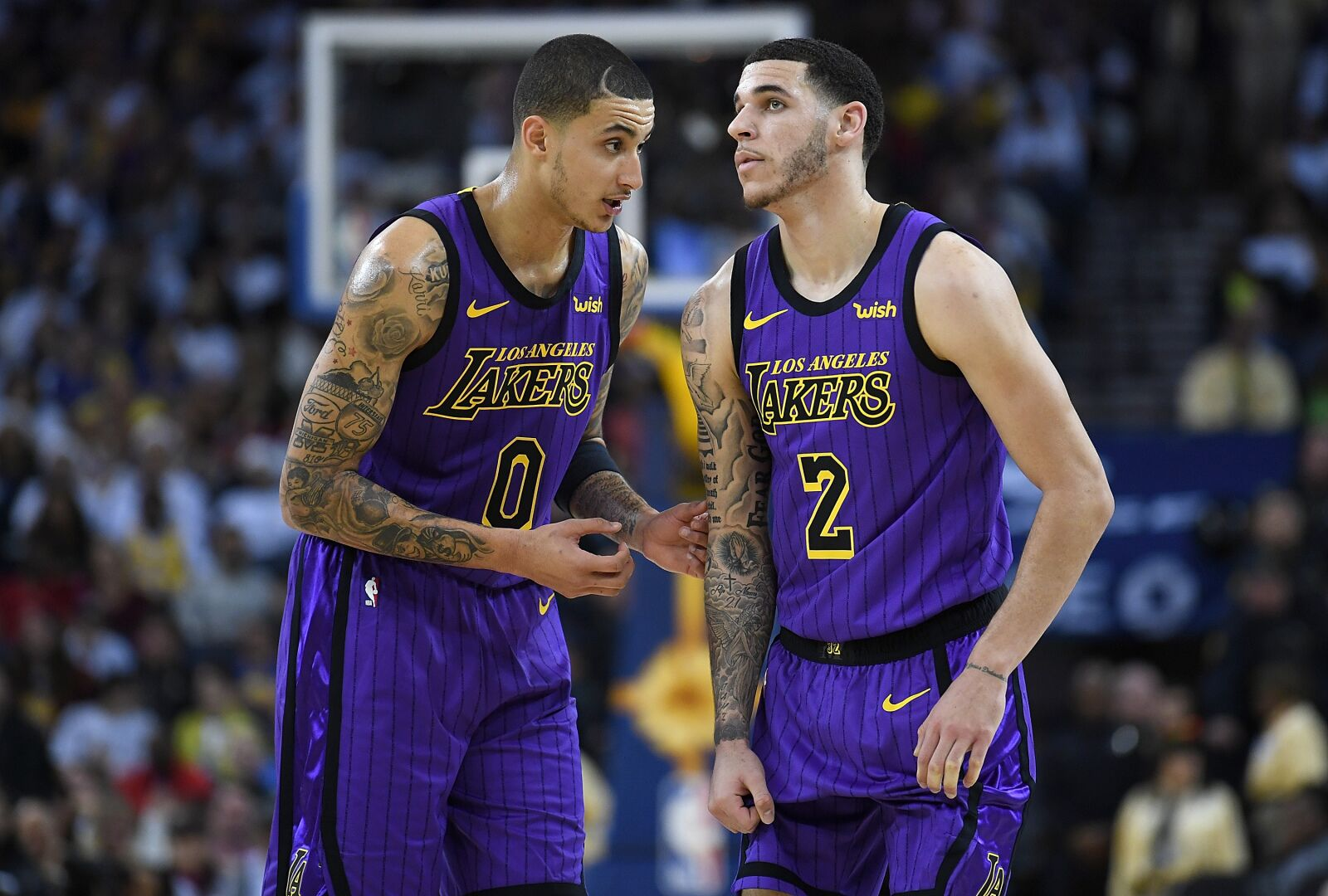 23c770334 Los Angeles Lakers have two players named to NBA Rising Stars 2019