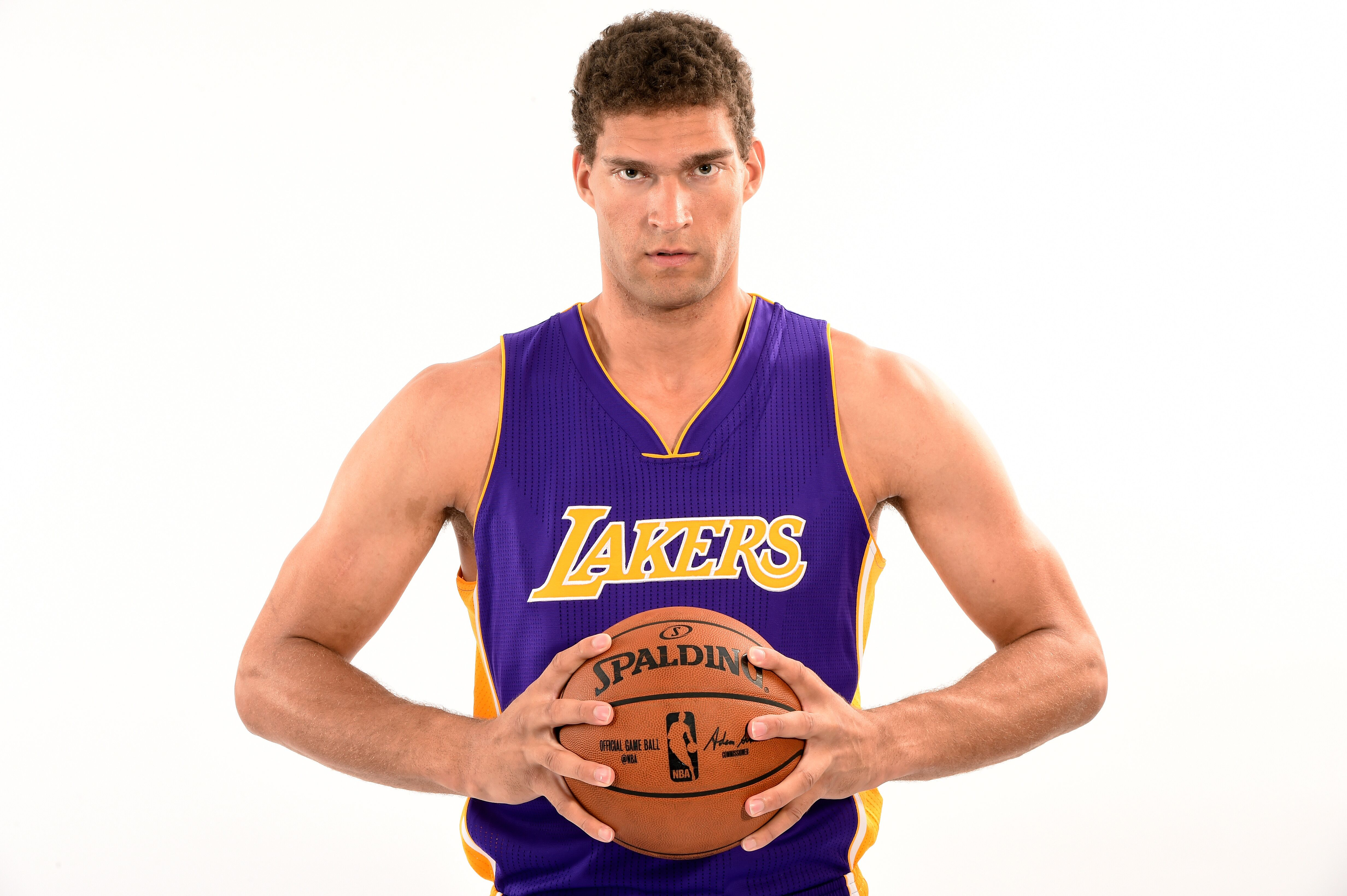 big sale 9b7e6 88c12 Los Angeles Lakers: Brook Lopez says he will be ready for ...