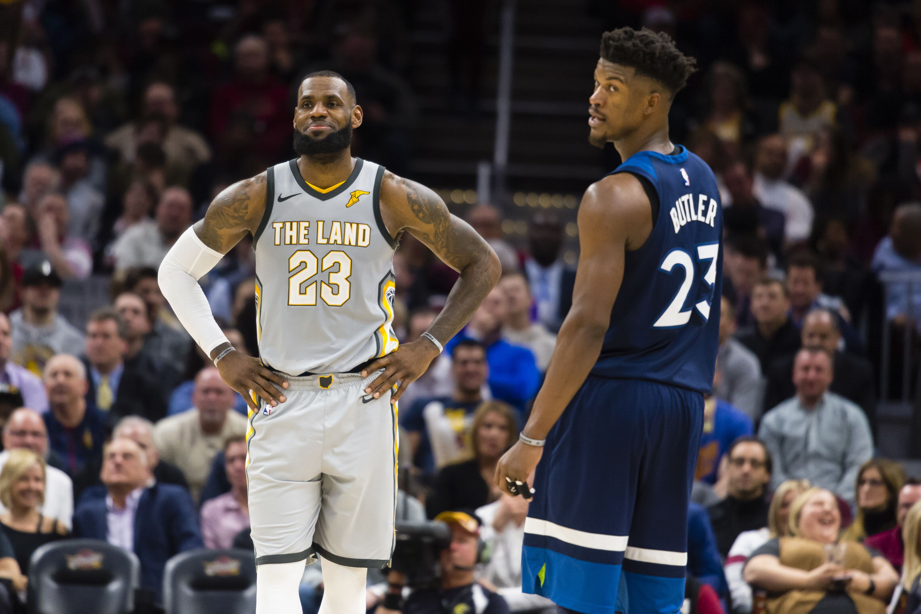 7e10a1a7a Lakers Rumors  LeBron James makes LA less appealing to Jimmy Butler