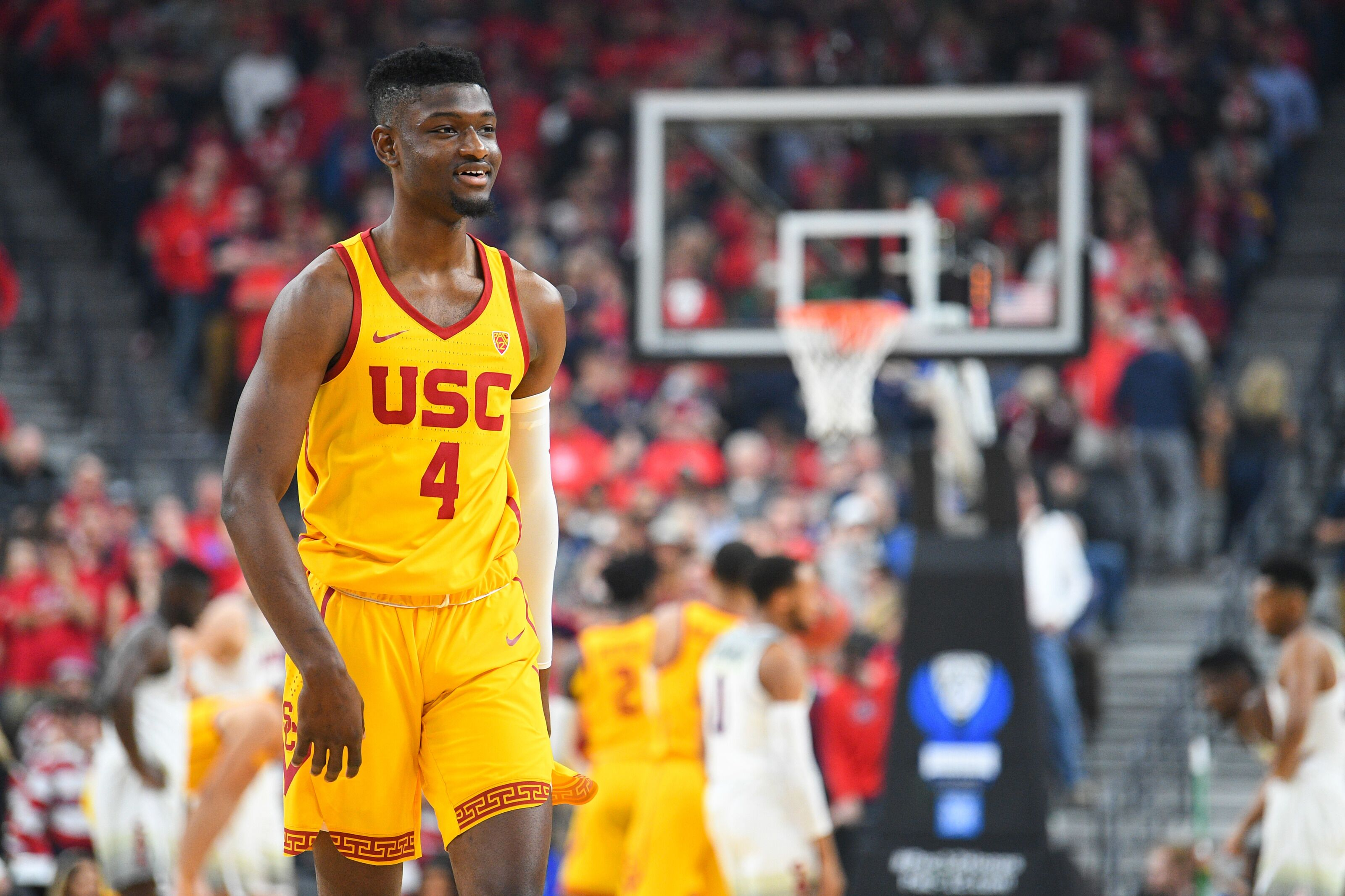 first rate c66c5 6e77c Los Angeles Lakers: Chimezie Metu headlines third pre draft ...