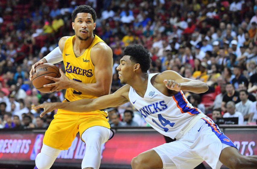 Los Angeles Lakers Summer League Standouts Earning Regular Season Minutes