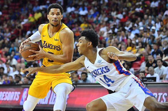 Los Angeles Lakers  Summer league standouts earning regular season minutes dce3aace1