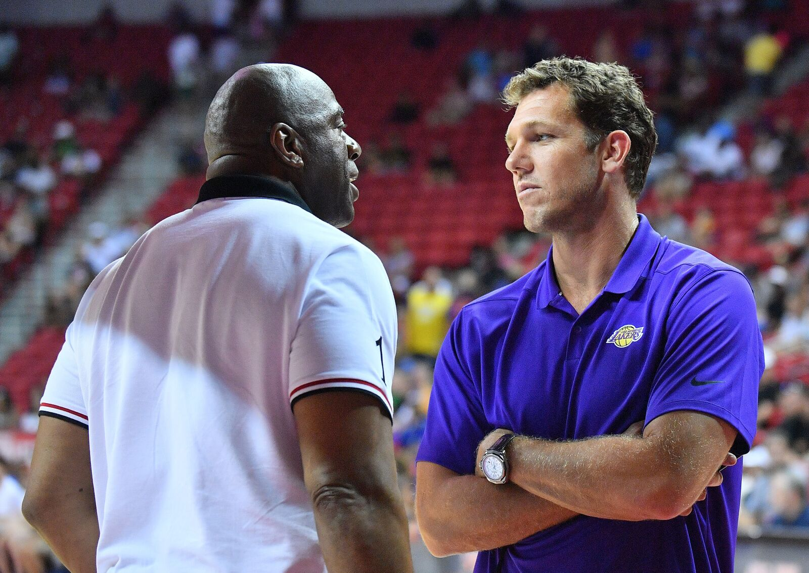 Los Angeles Lakers: Luke Walton's relationship with Magic Johnson has been good!
