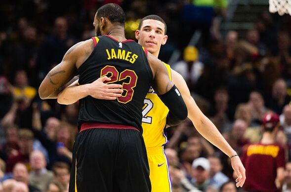 80310272e Los Angeles Lakers  4 goals for Lonzo Ball in the 2018-2019 season