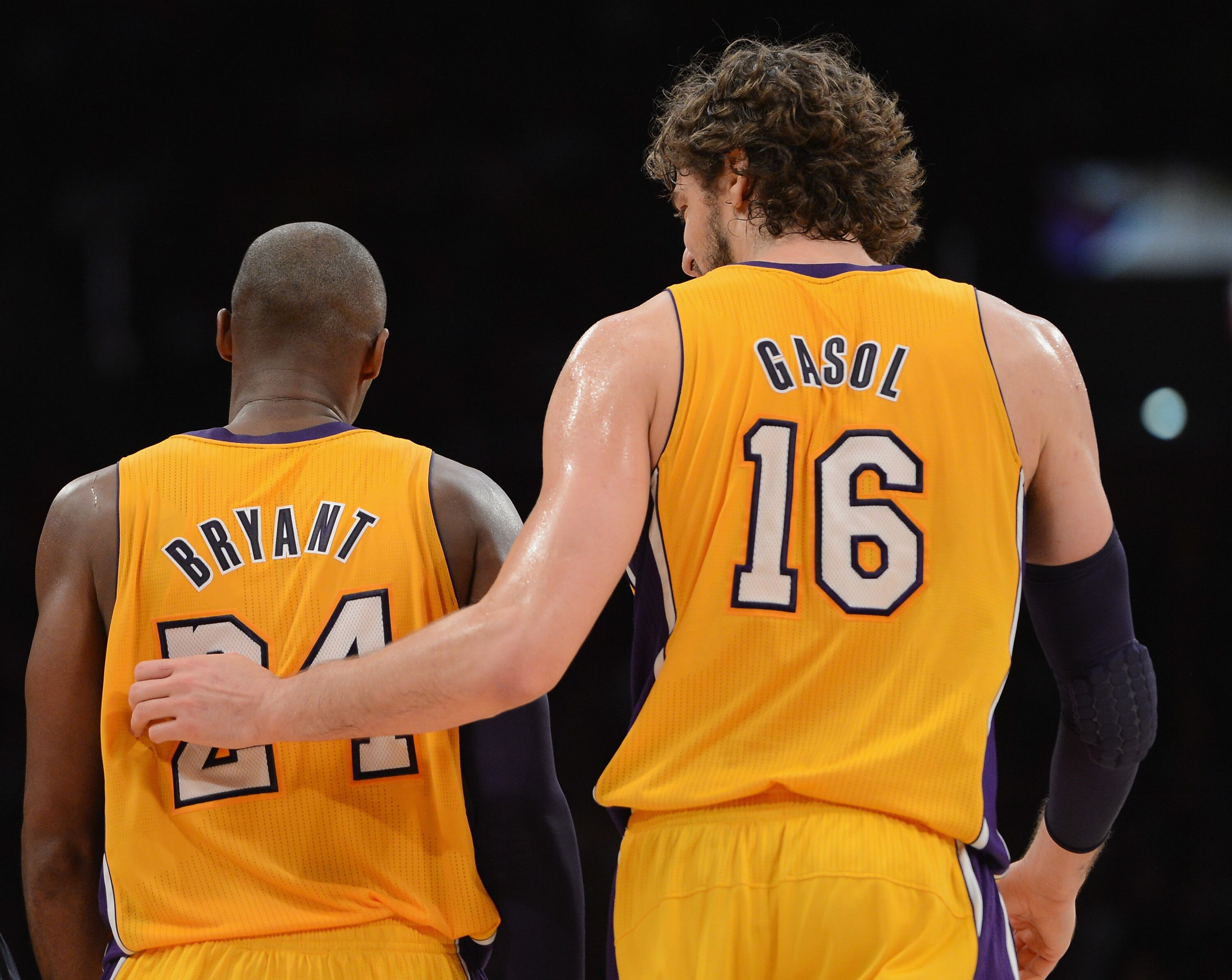 ebbc9ebc6 Los Angeles Lakers  Many believe Pau Gasol s number should be retired
