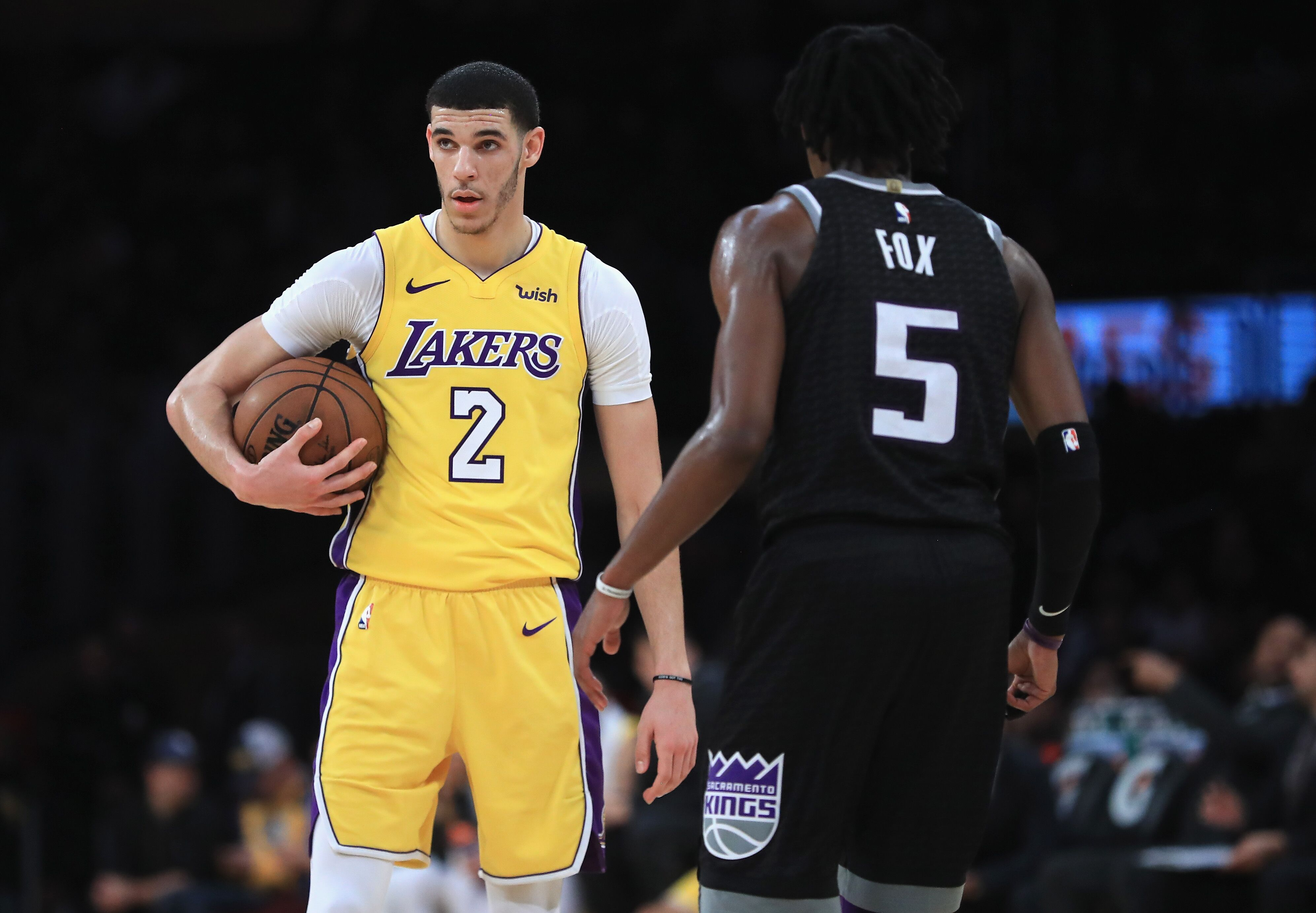 5d94a21e78e Los Angeles Lakers  3 takeaways from win against Sacramento Kings