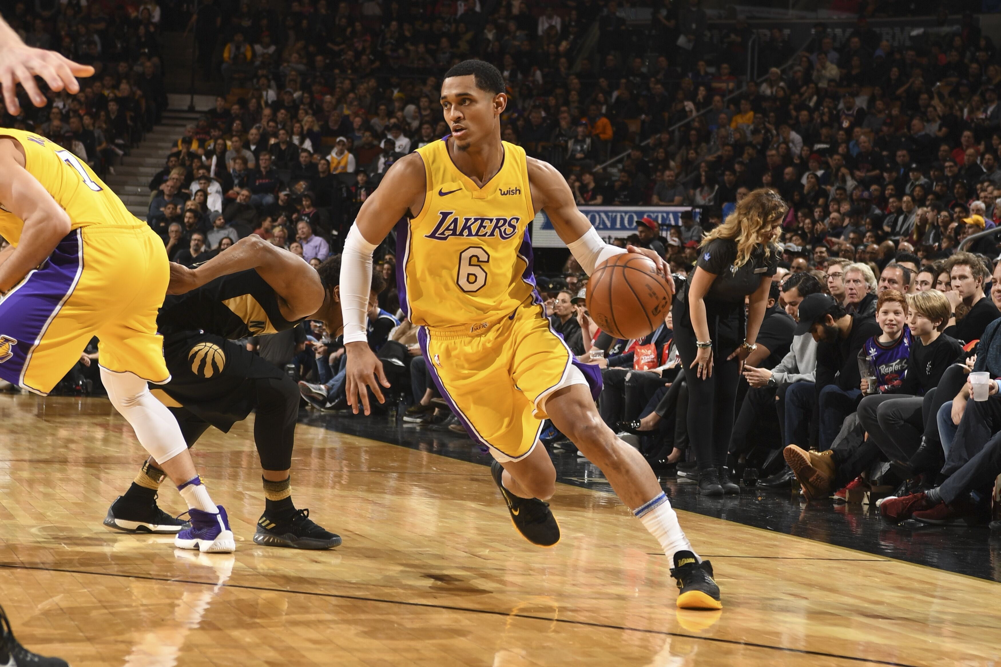56db4cc78865 Lakers Rumors  Jordan Clarkson offered to Detroit Pistons