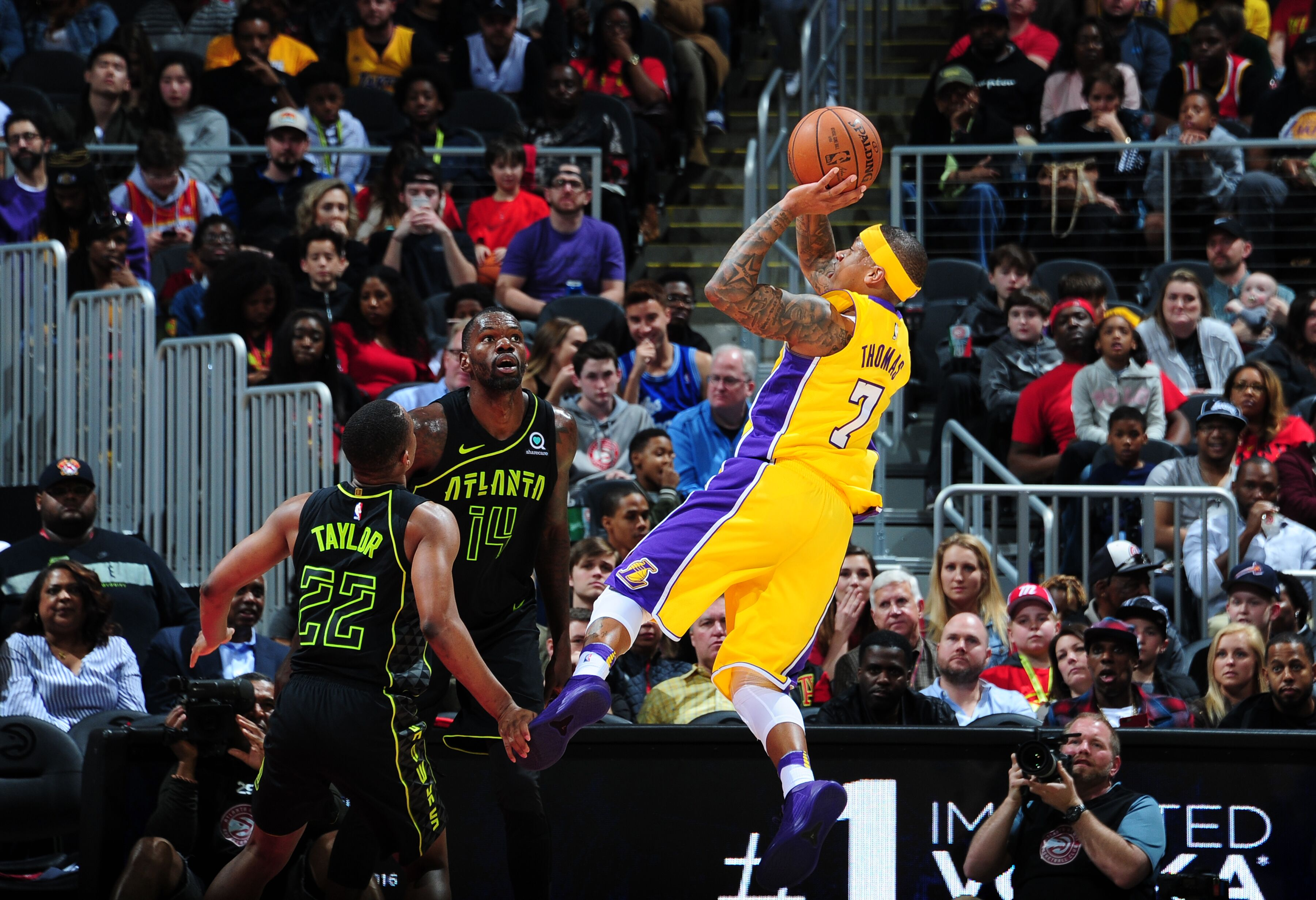 Los Angeles Lakers  Isaiah Thomas optimistic of his future in Los Angeles f0e489d1c