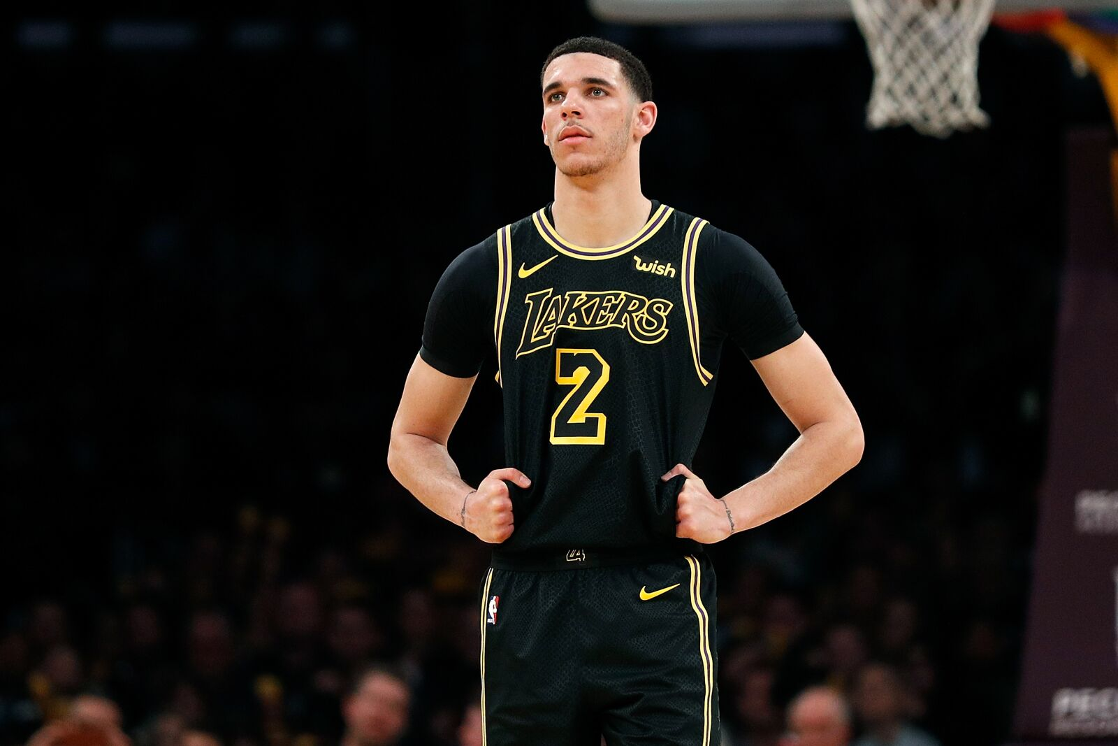 78360b93b16 Los Angeles Lakers' Lonzo Ball has been a disappointment so far