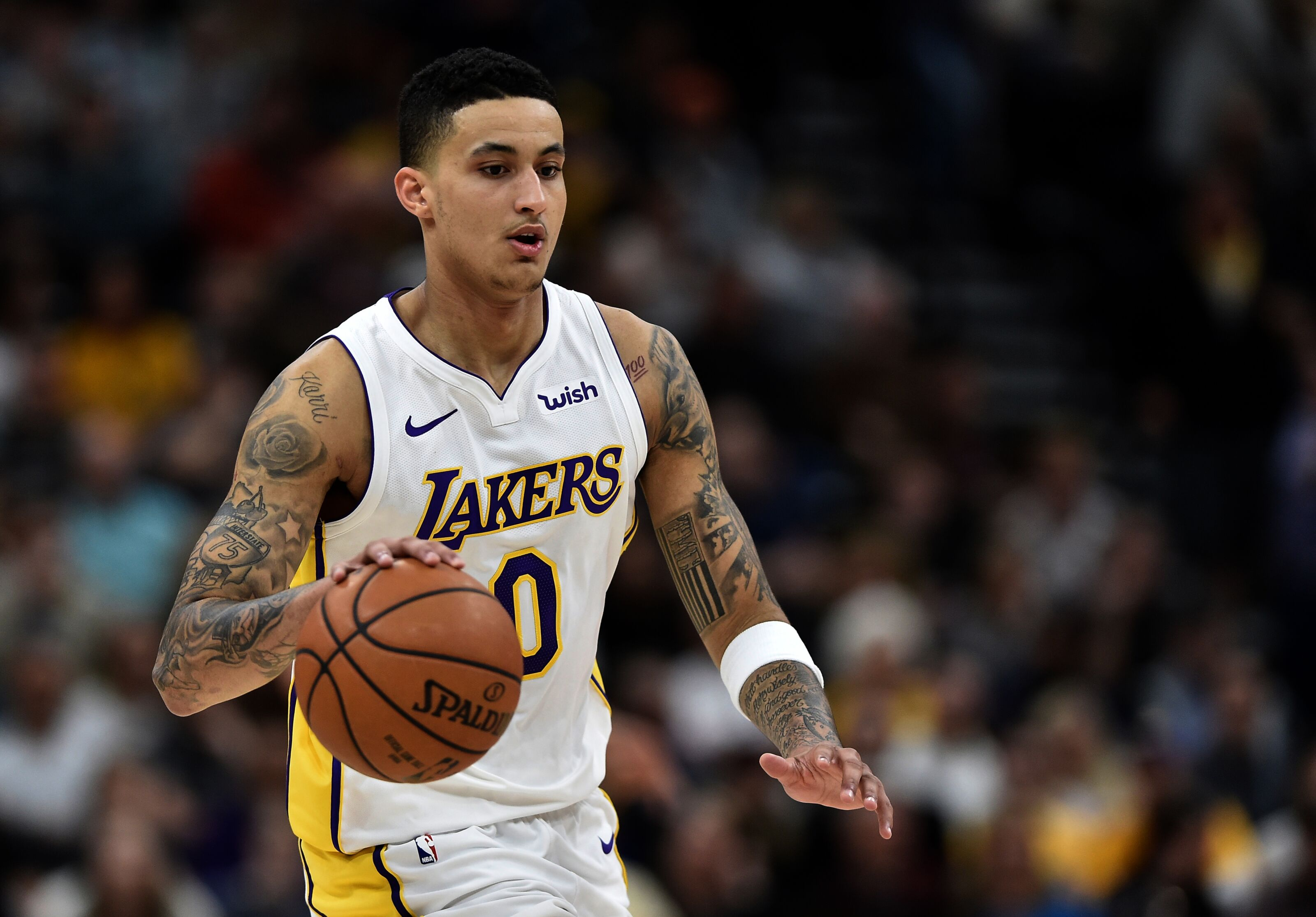 1a7016f7c818 Los Angeles Lakers  Kyle Kuzma confident about making playoffs