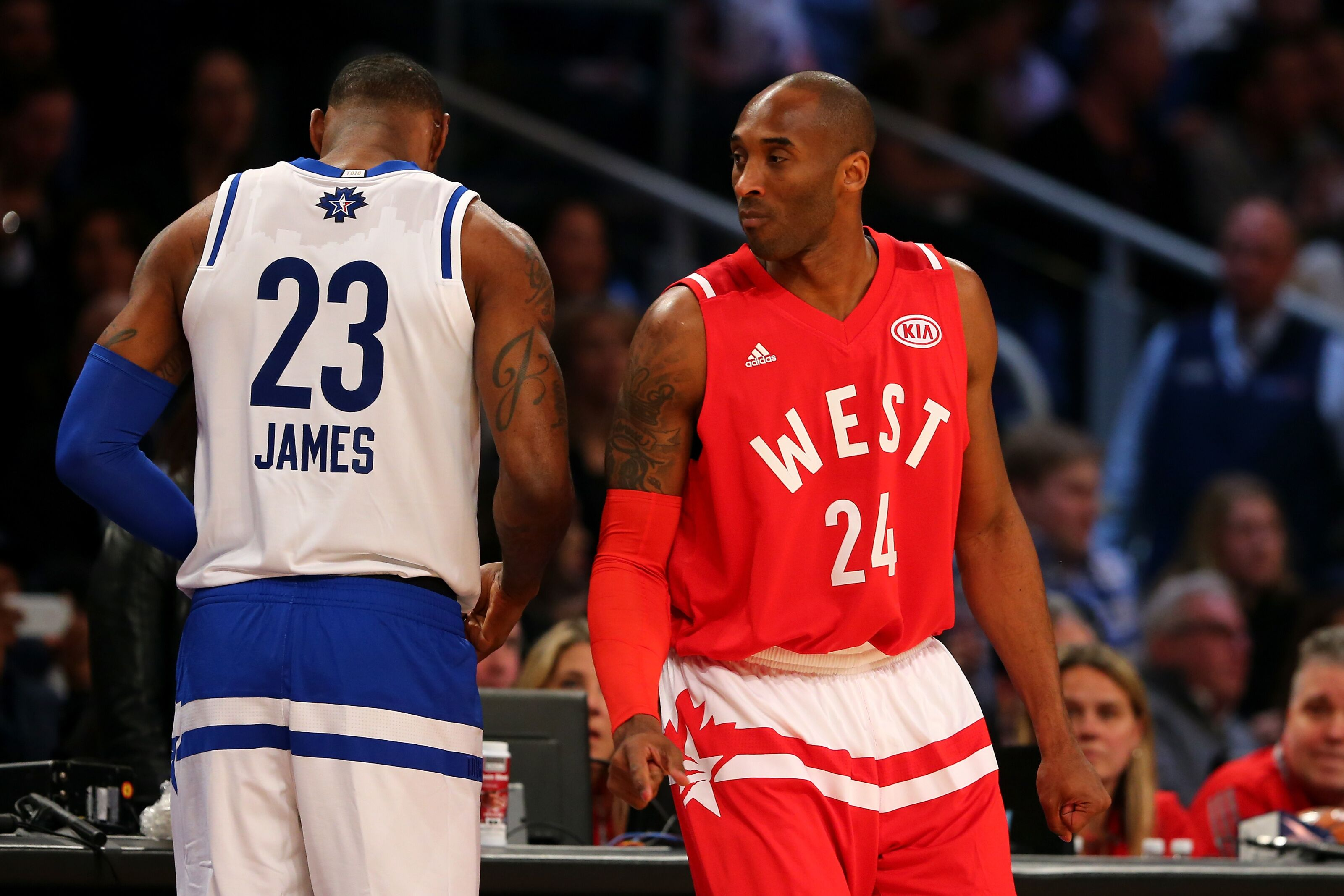 e22584ab318d Kobe Bryant hates the idea that LeBron James has no backup