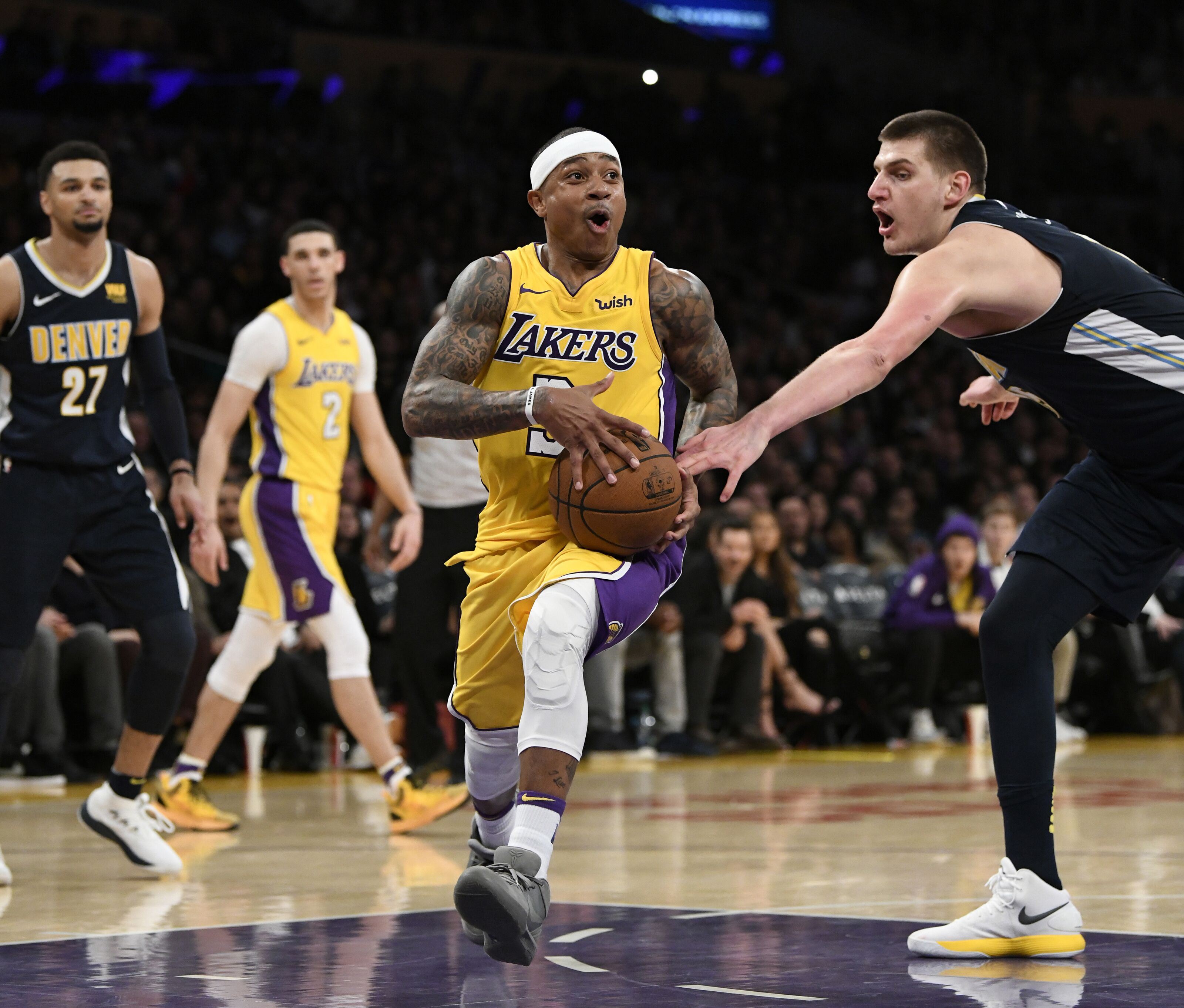 sale retailer ba77b cc808 Lakers News: Isaiah Thomas inks deal with Denver Nuggets
