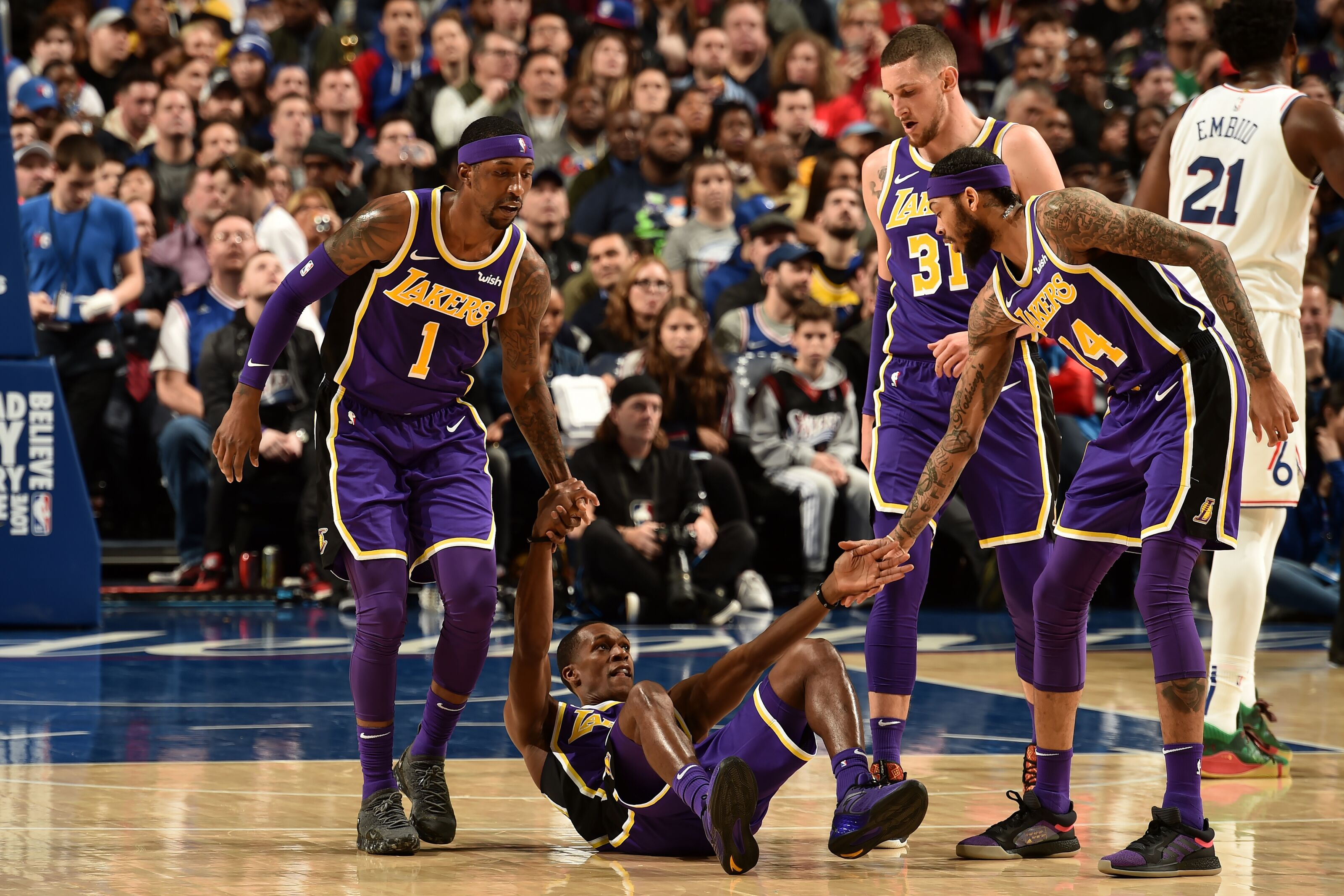 Los Angeles Lakers: 3 Takeaways from loss to Philadelphia 76ers