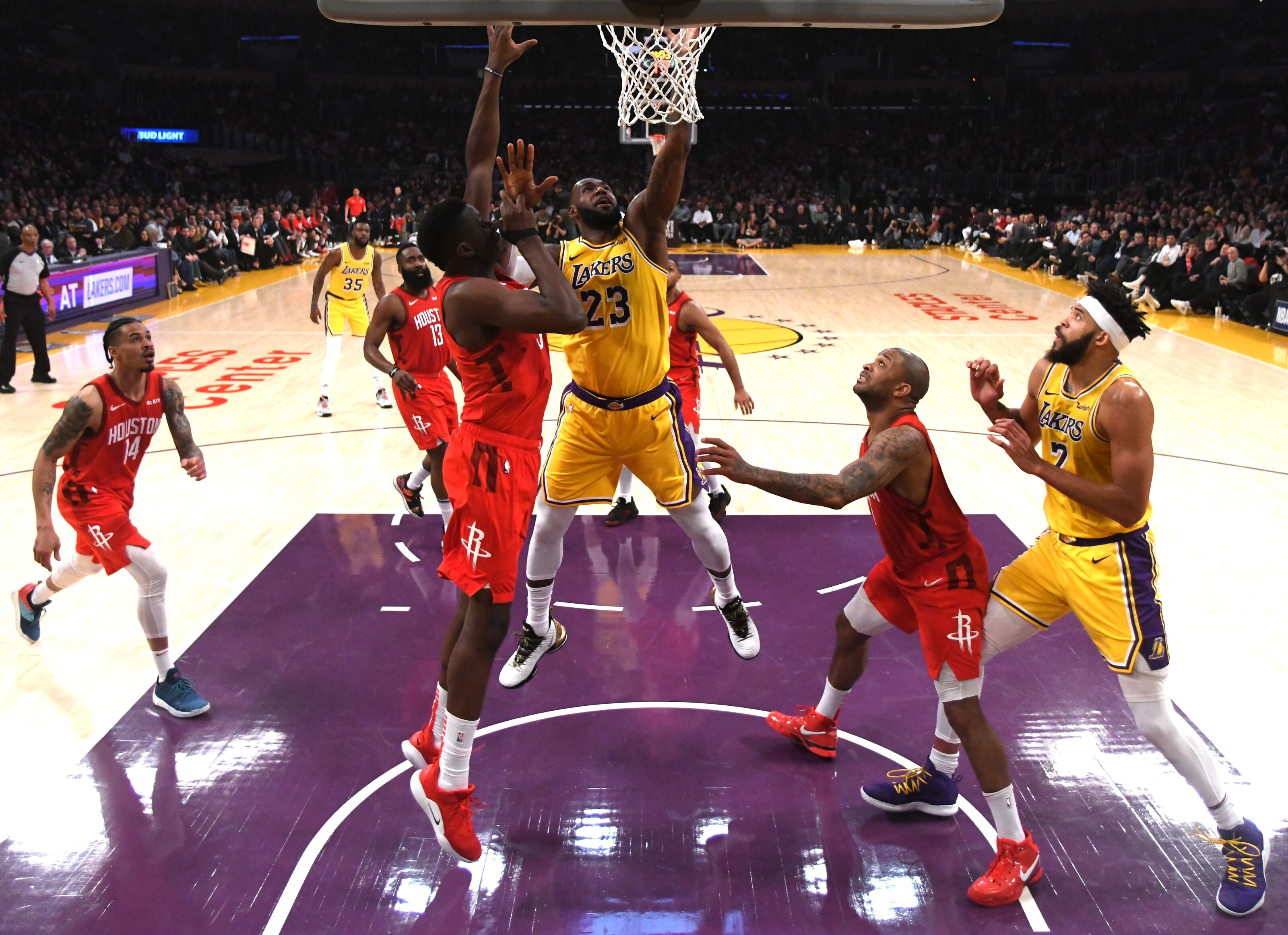 Los Angeles Lakers: Lessons, takeaways from win vs. Houston Rockets