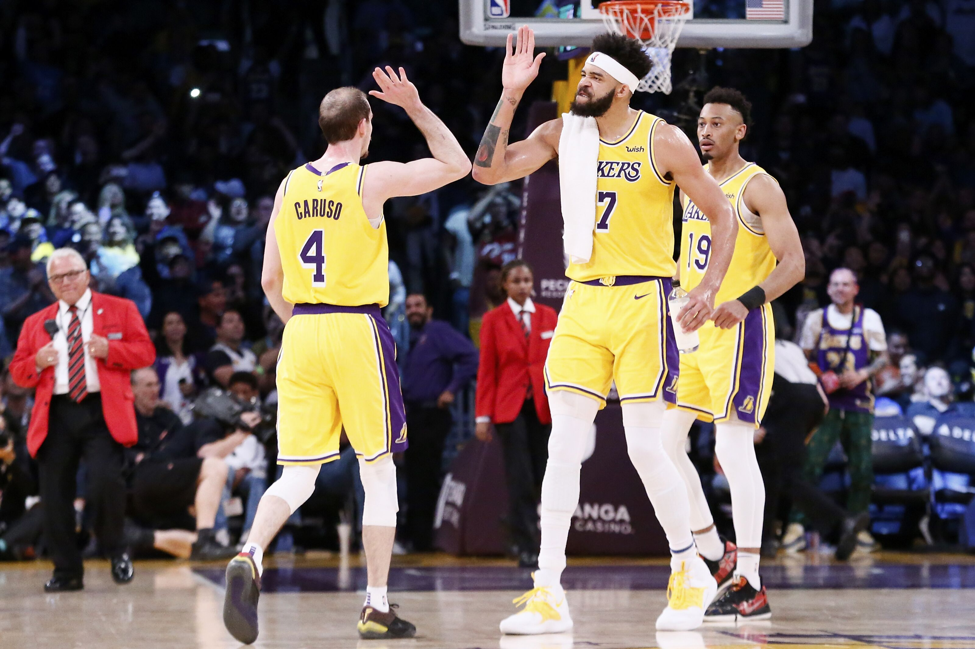 Los Angeles Lakers: Ranking the players on the 2019-2020