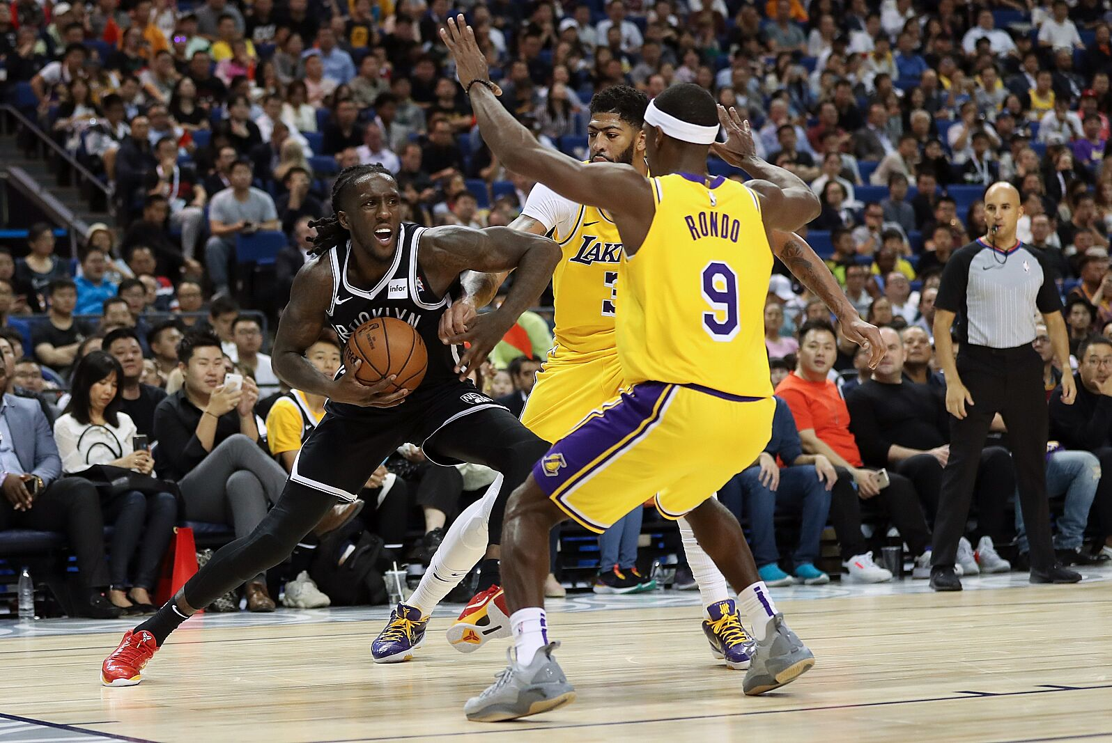 Image result for rajon rondo lakers
