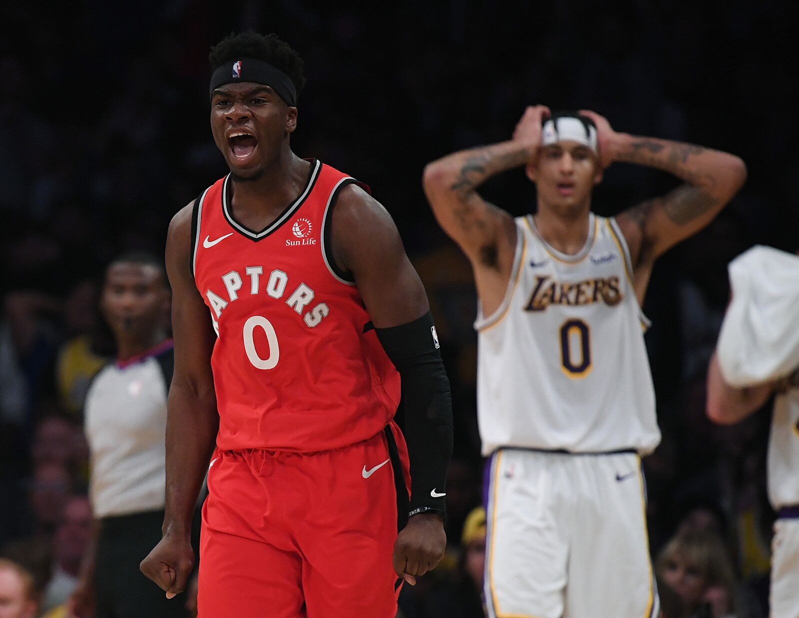 Los Angeles Lakers: 4 Lessons in a loss to the Toronto Raptors