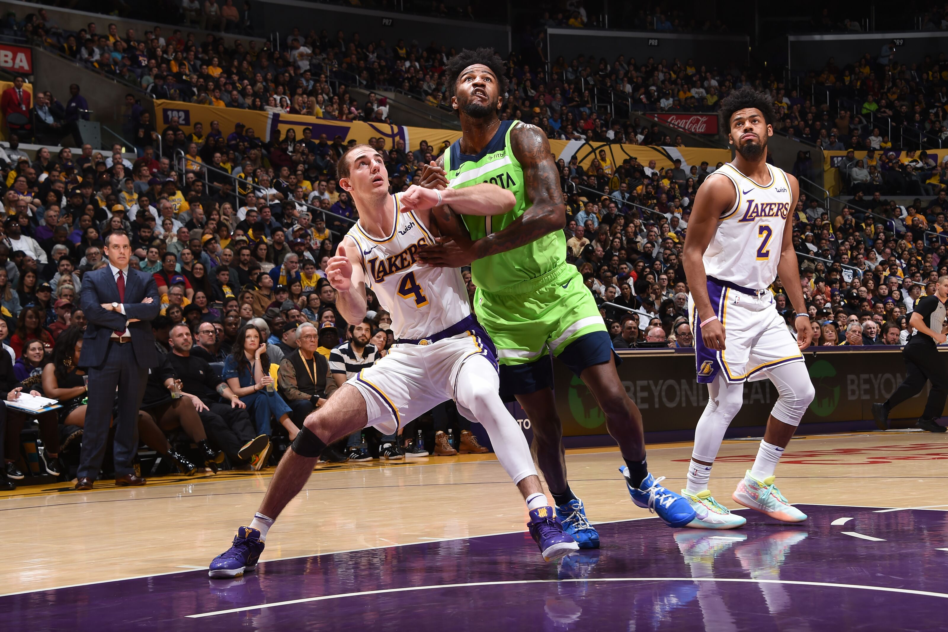 Los Angeles Lakers: Alex Caruso continues to prove his worth following win over Timberwolves