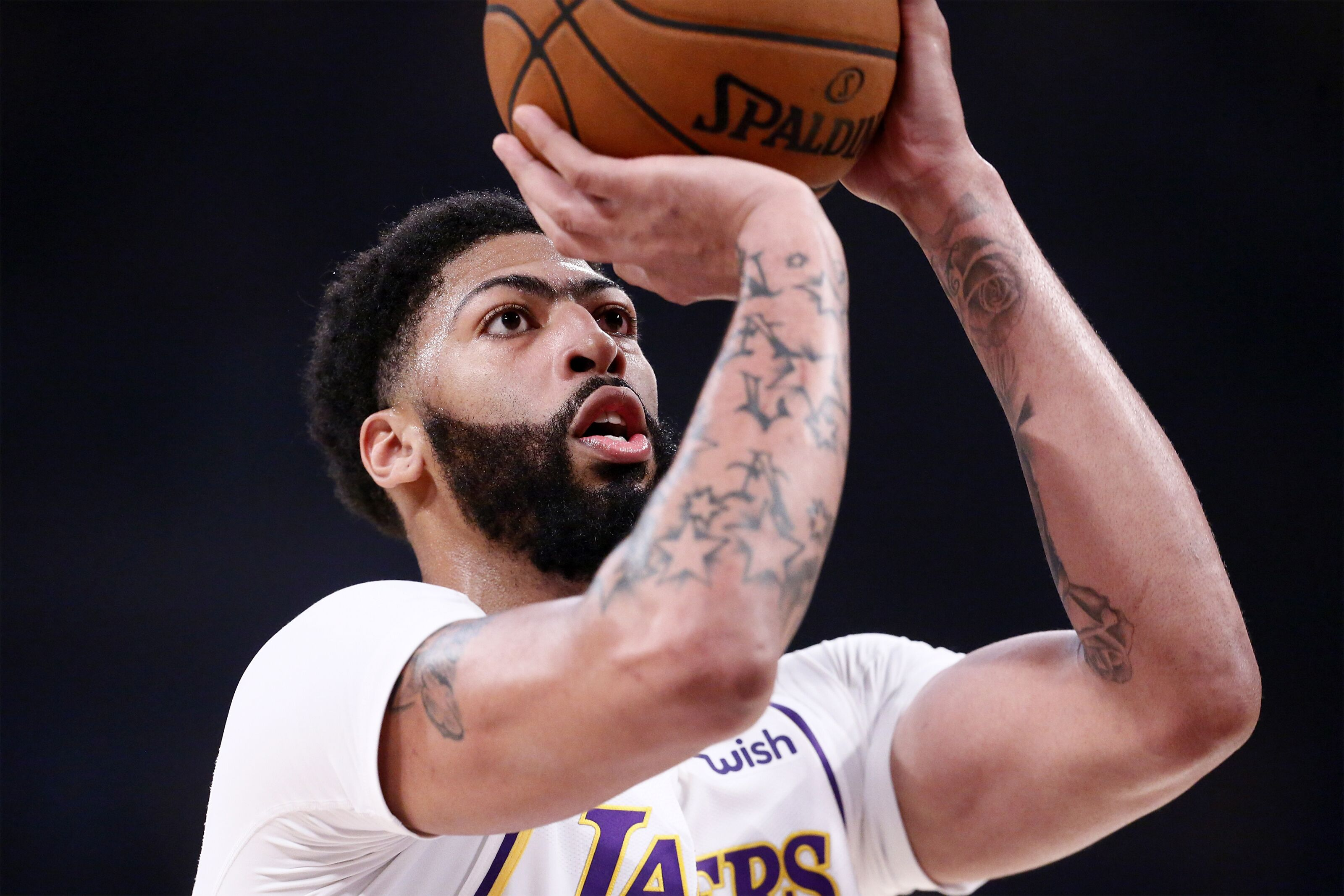 Los Angeles Lakers Anthony Davis Discusses Sustaining Big Leads