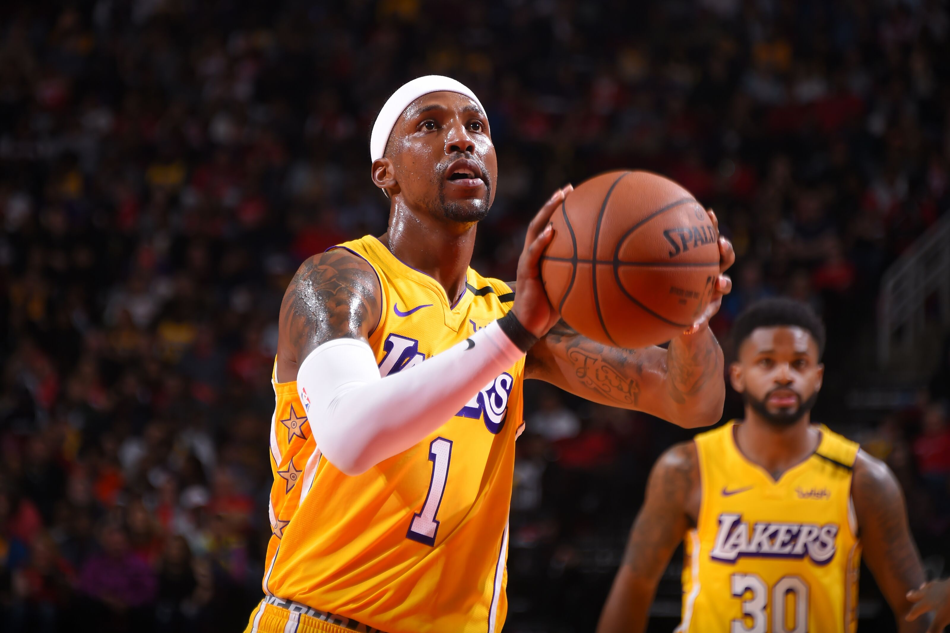 Los Angeles Lakers: Kentavious Caldwell-Pope plays a huge role against Rockets