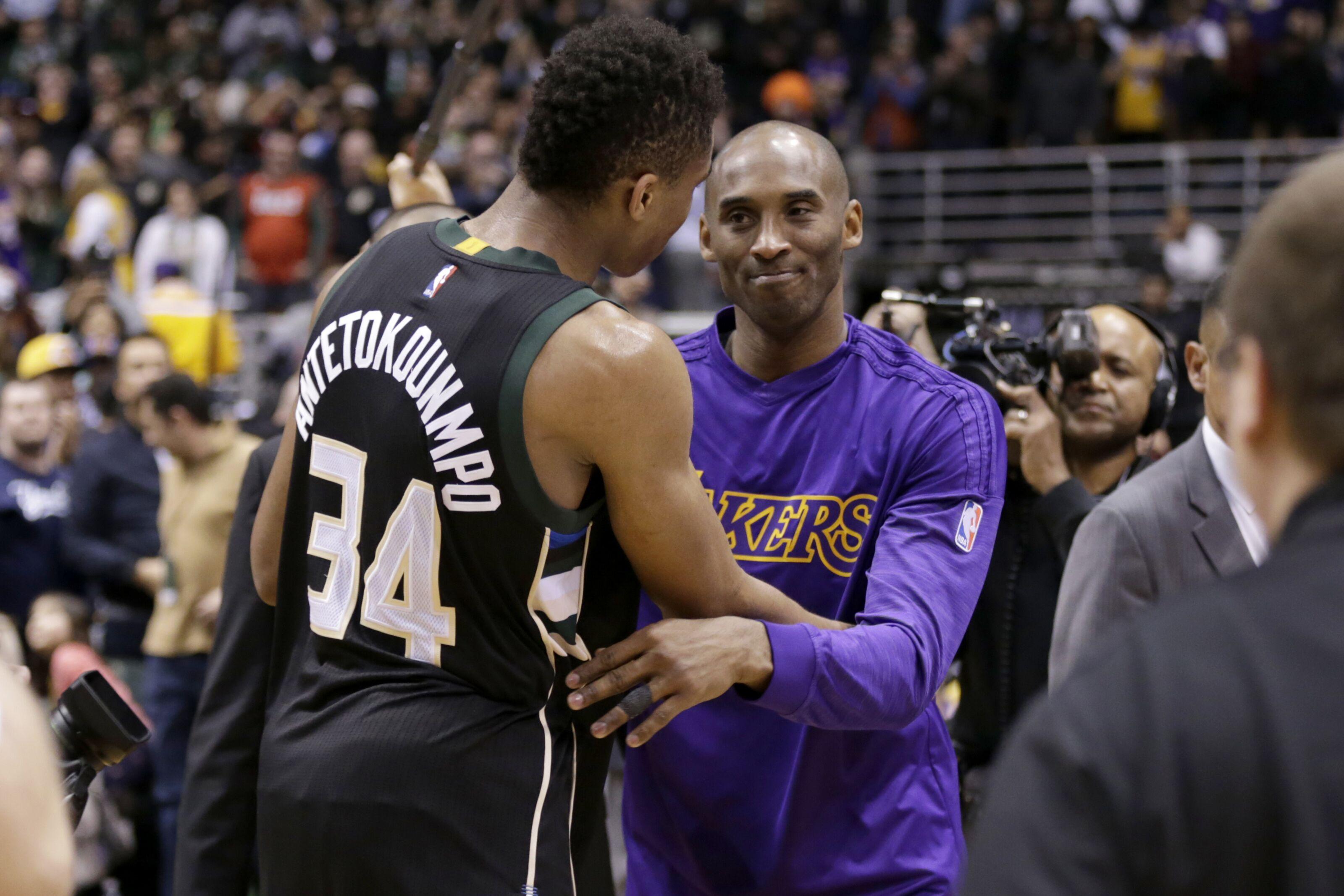 Los Angeles Lakers: Pau Gasol sees similarities between Kobe Bryant and Giannis Antetokounmpo