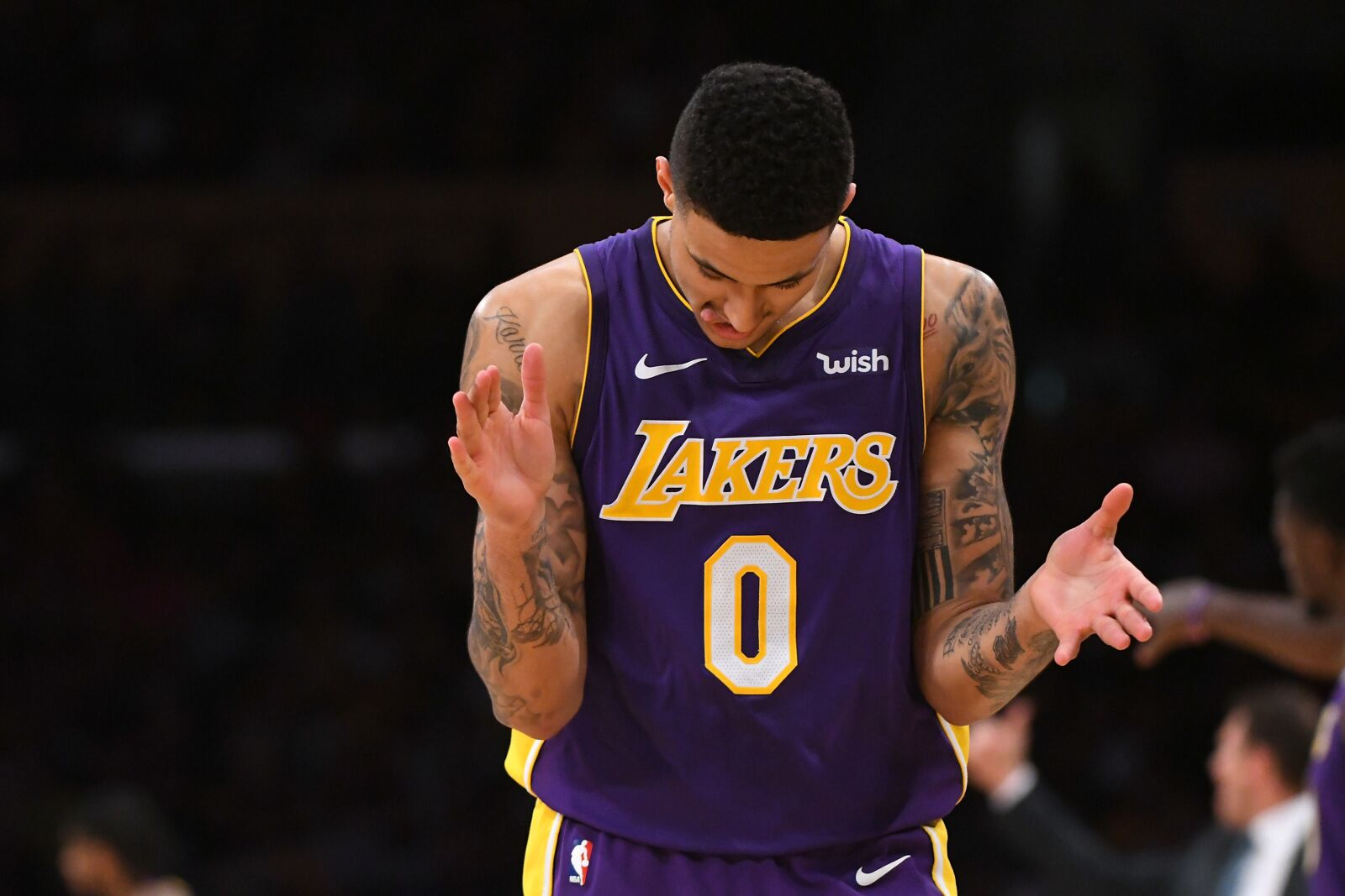 dec5d9a85 Los Angeles Lakers  Channing Frye raves about Kyle Kuzma s potential