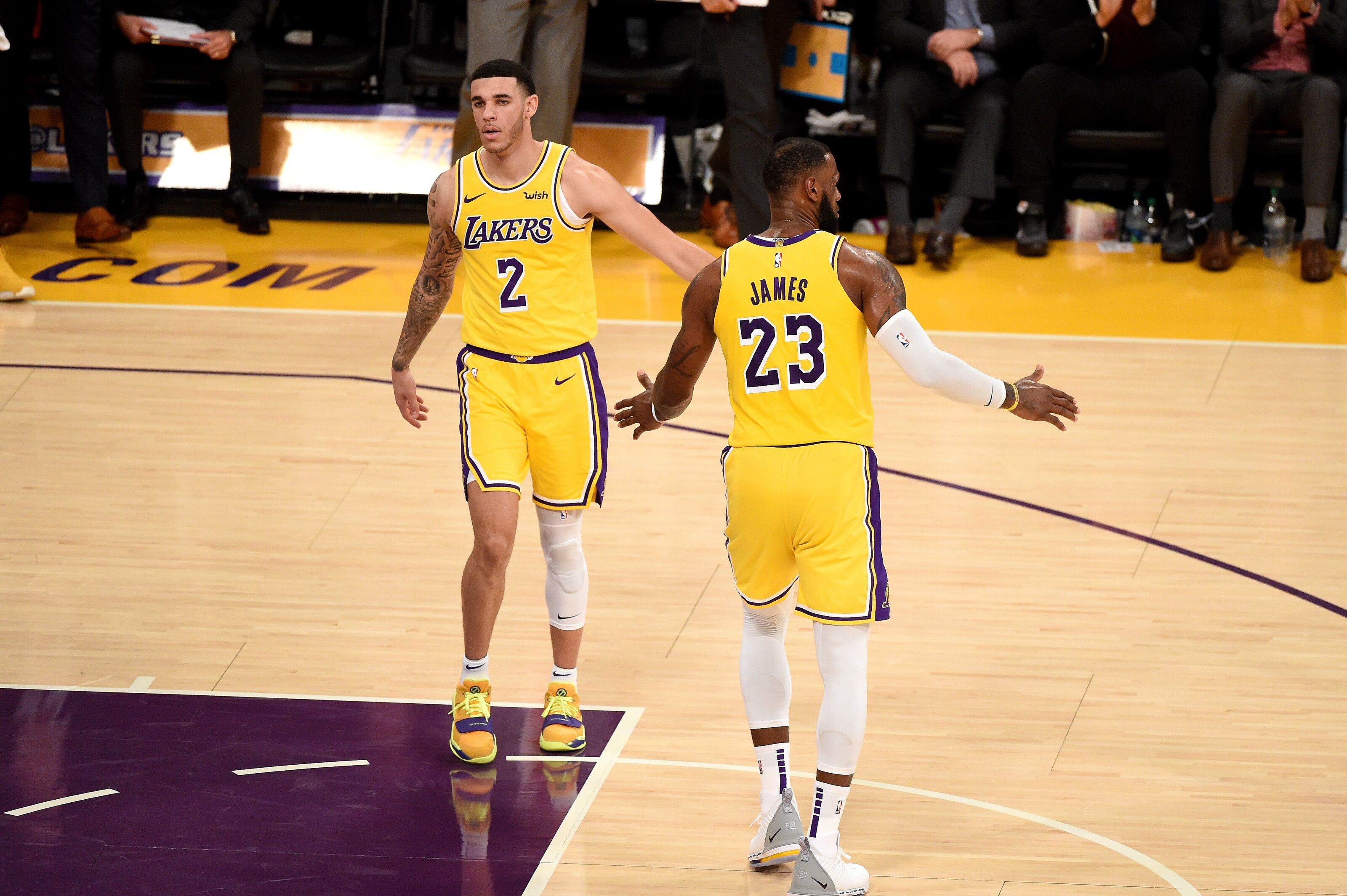 35fde1fb966 Los Angeles Lakers: LeBron James and Lonzo Ball can thrive together