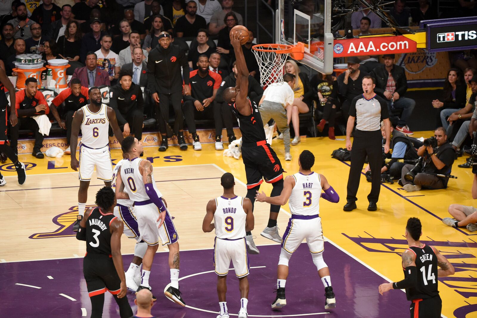 Los Angeles Lakers: 3 takeaways from loss to Leonard-Less Raptors!