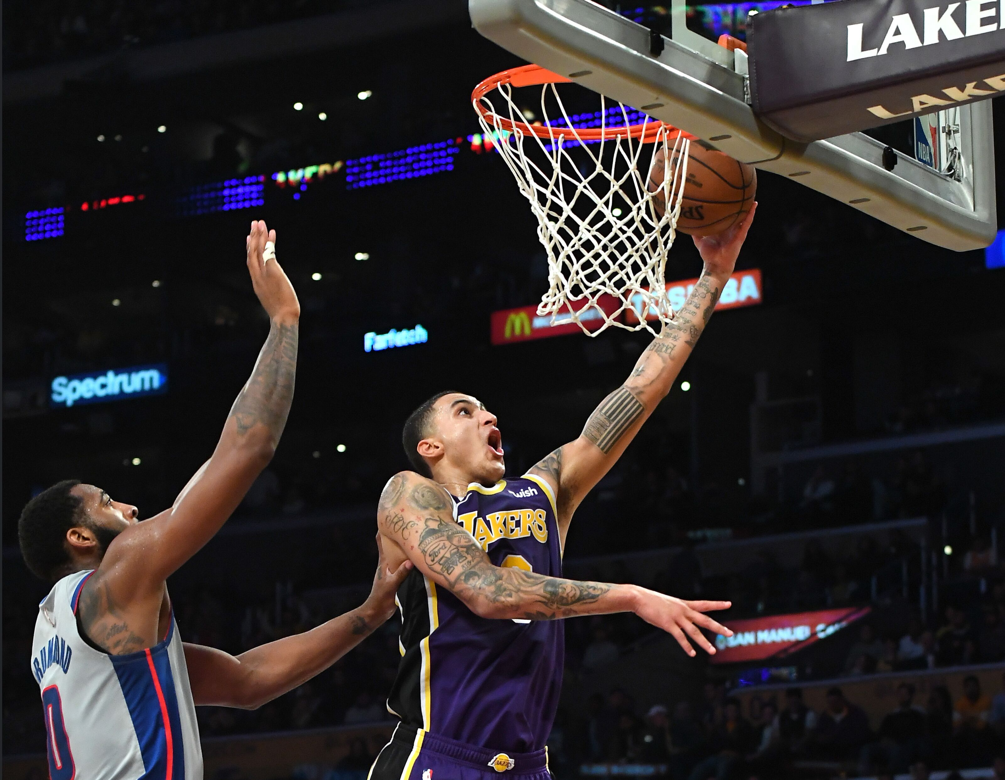 Los Angeles Lakers  Kyle Kuzma through the years - Page 2 76192d199