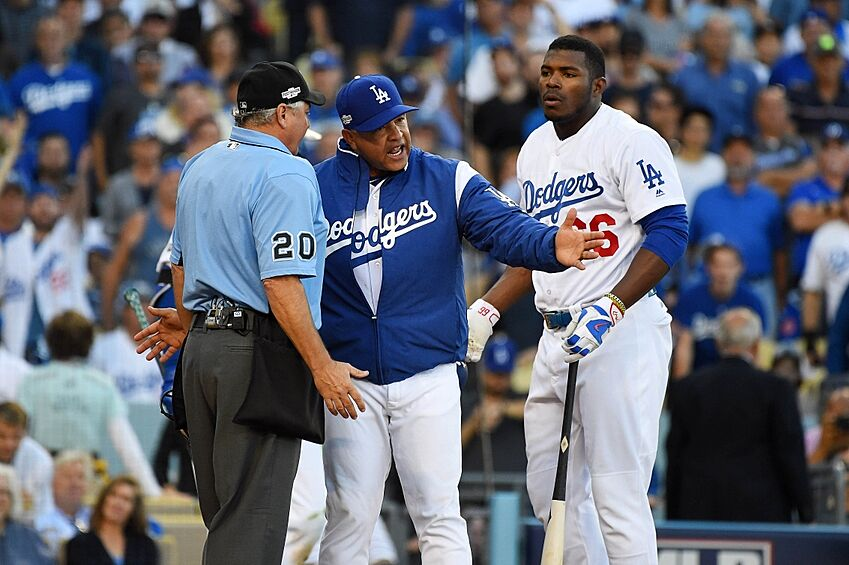 dodgers  national game   ways la     nlcs page