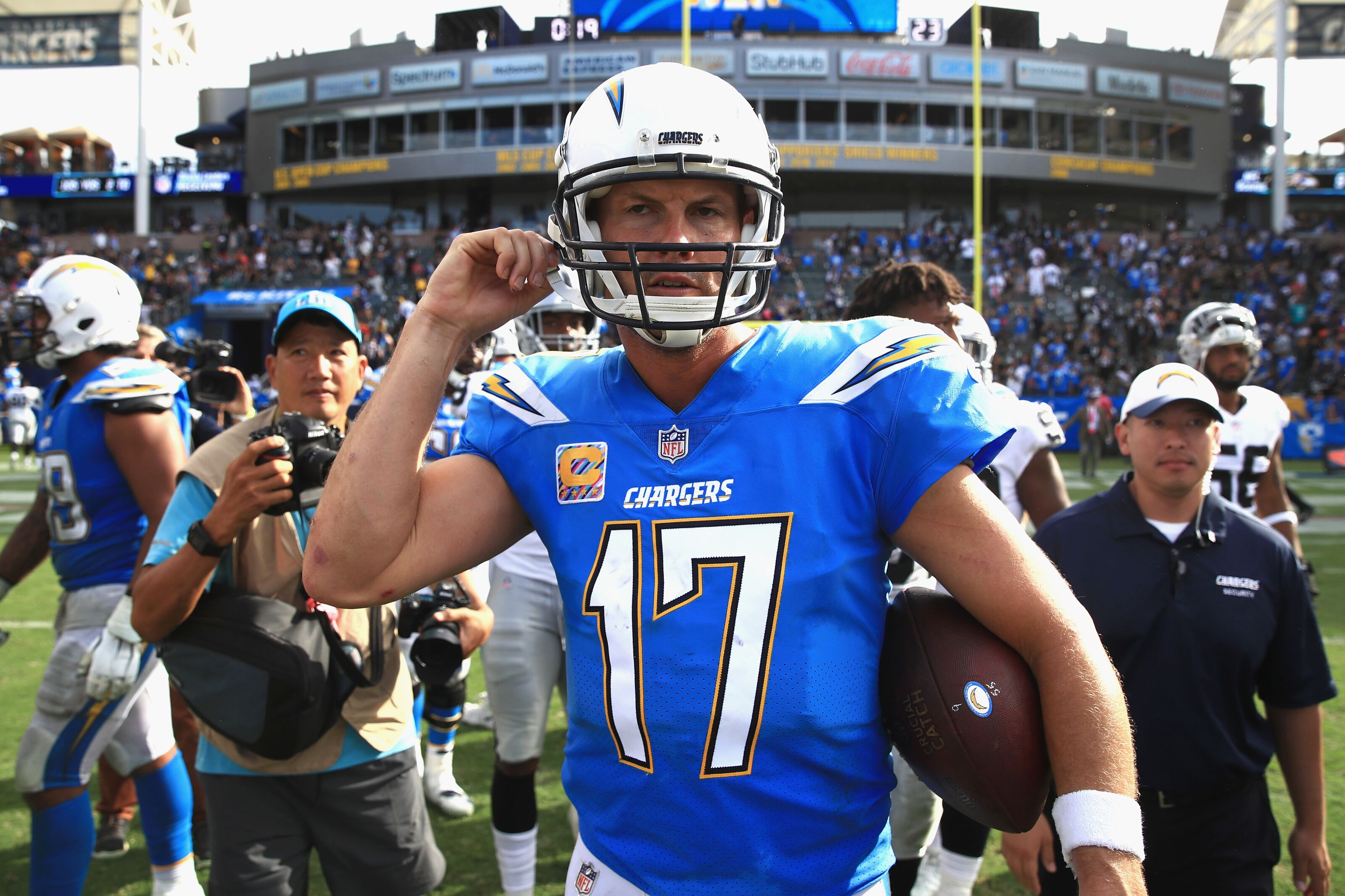 Los Angeles Chargers: How much longer will Philip Rivers Play?