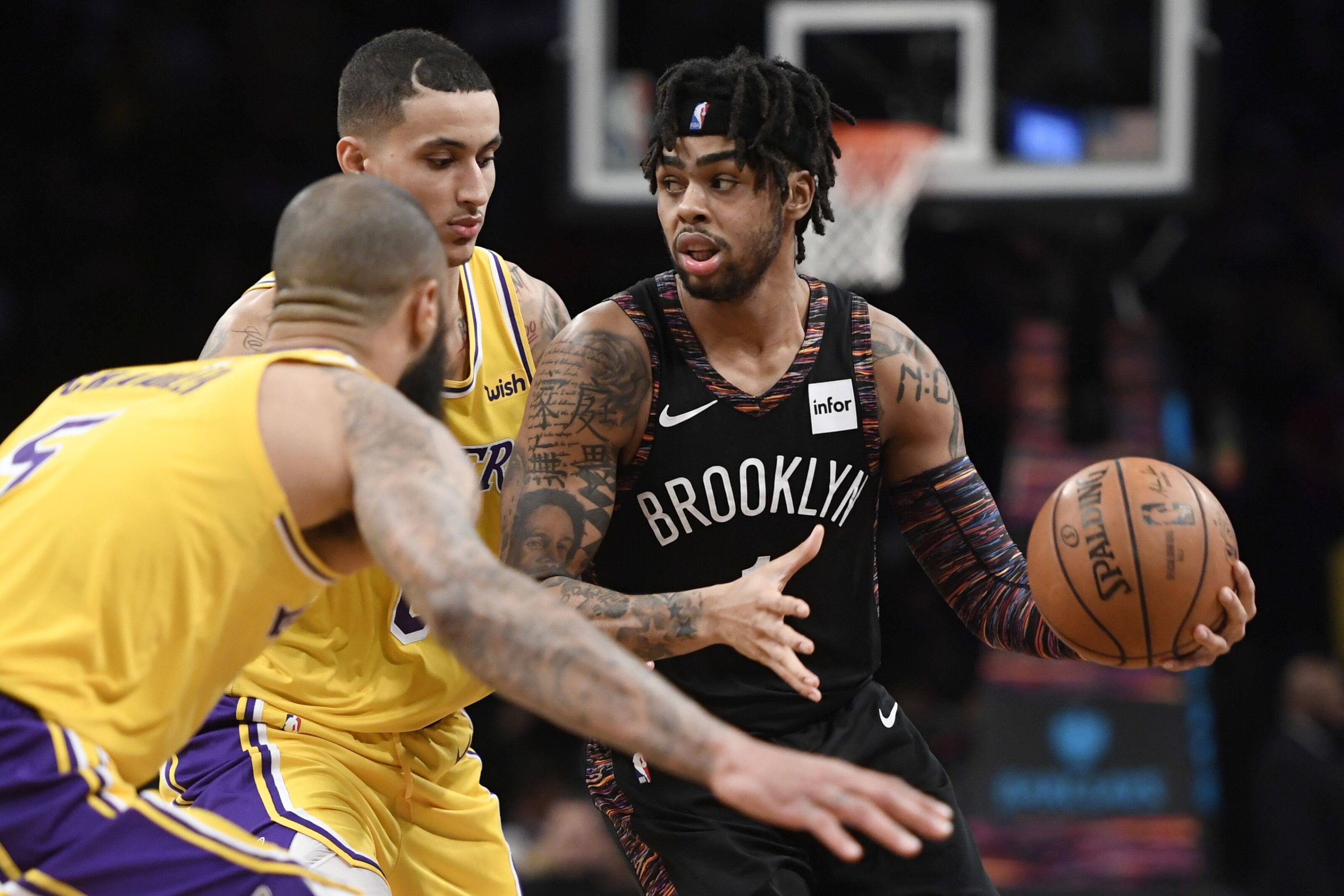 fcca137c2c9 Los Angeles Lakers: Trading D'Angelo Russell magically isn't a mistake