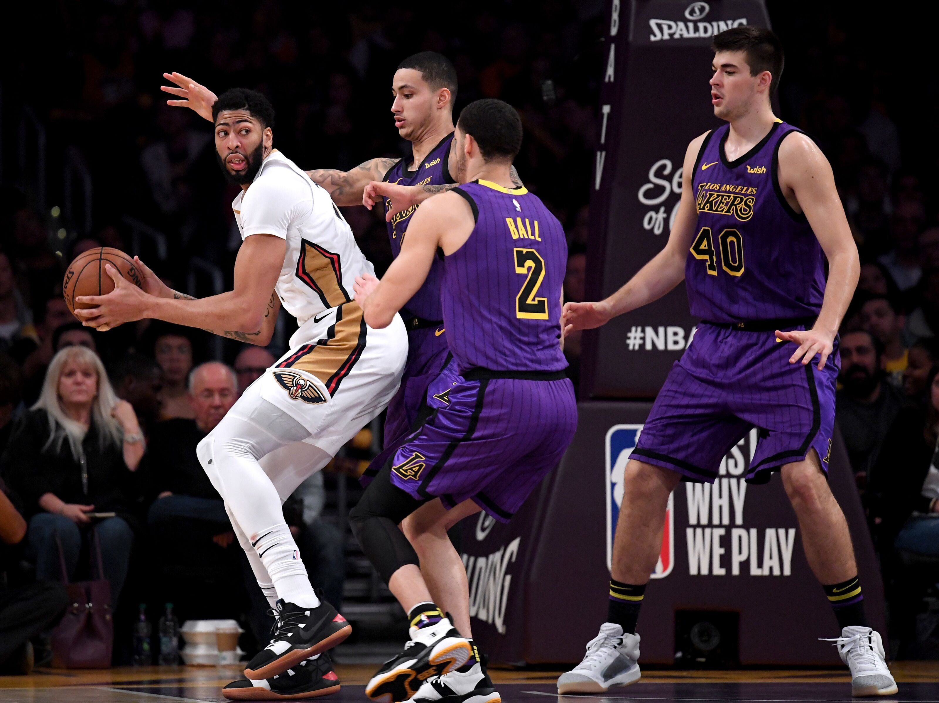 96e6617b5 Los Angeles Lakers  Ivica Zubac trade could be a prelude to Anthony Davis