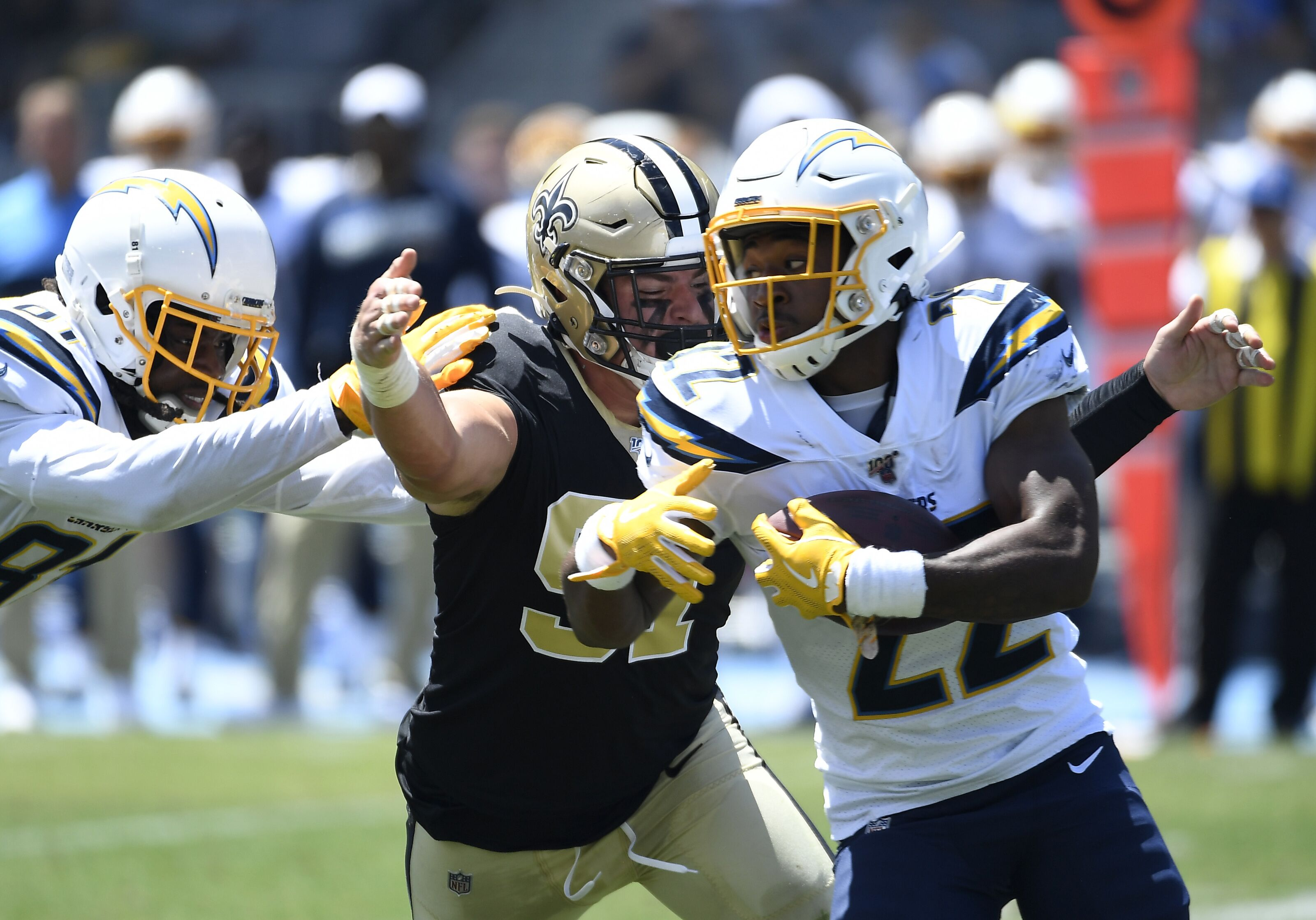 4842fd38 Running back hex or luck? The Los Angeles Chargers running situation