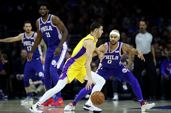 f4f472749 The Los Angeles Lakers and Philadelphia 76ers are both in the LeBron James  sweepstakes. Los Angeles