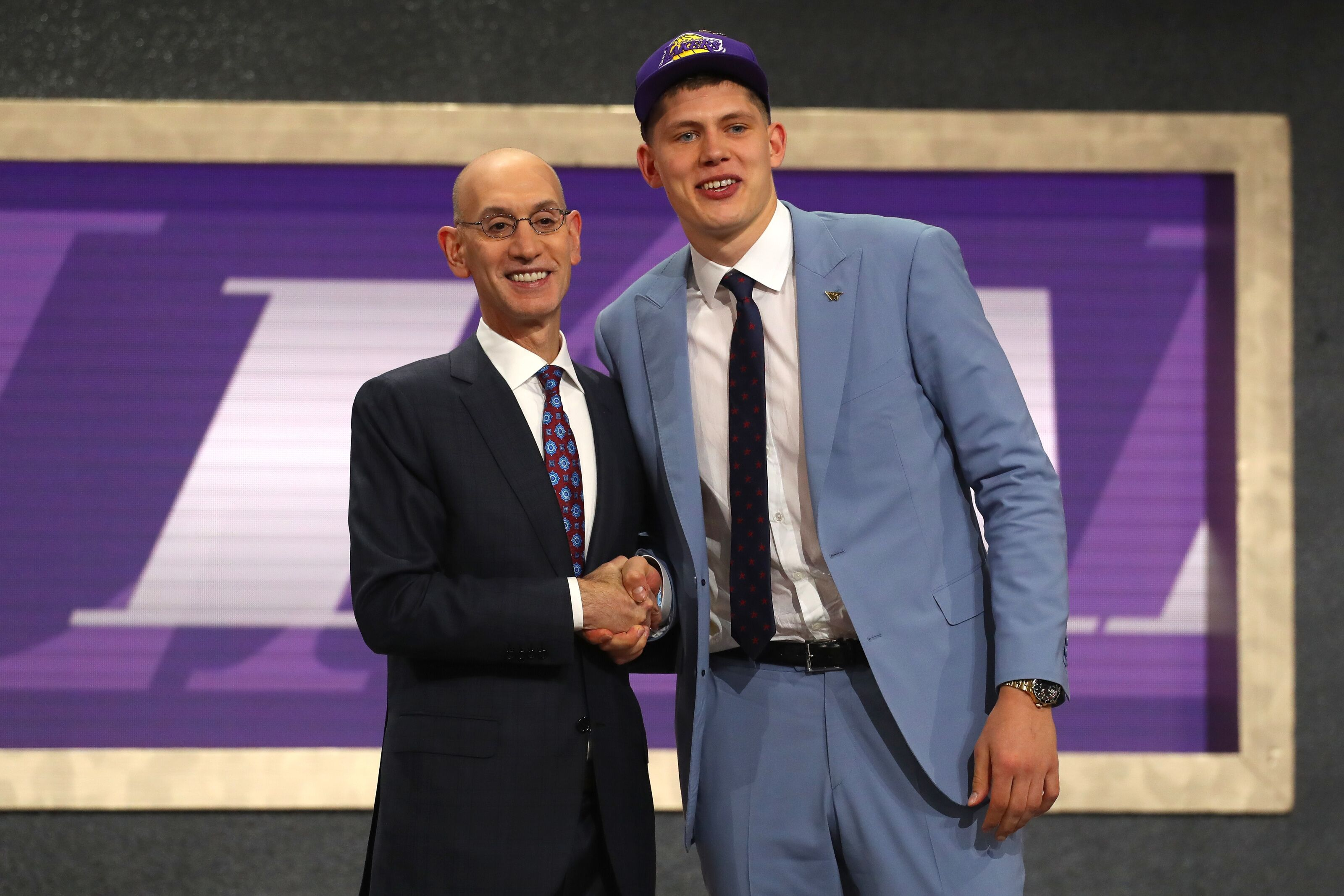 3bee40529a9 Los Angeles Lakers: Draft selections were tailored to LeBron James