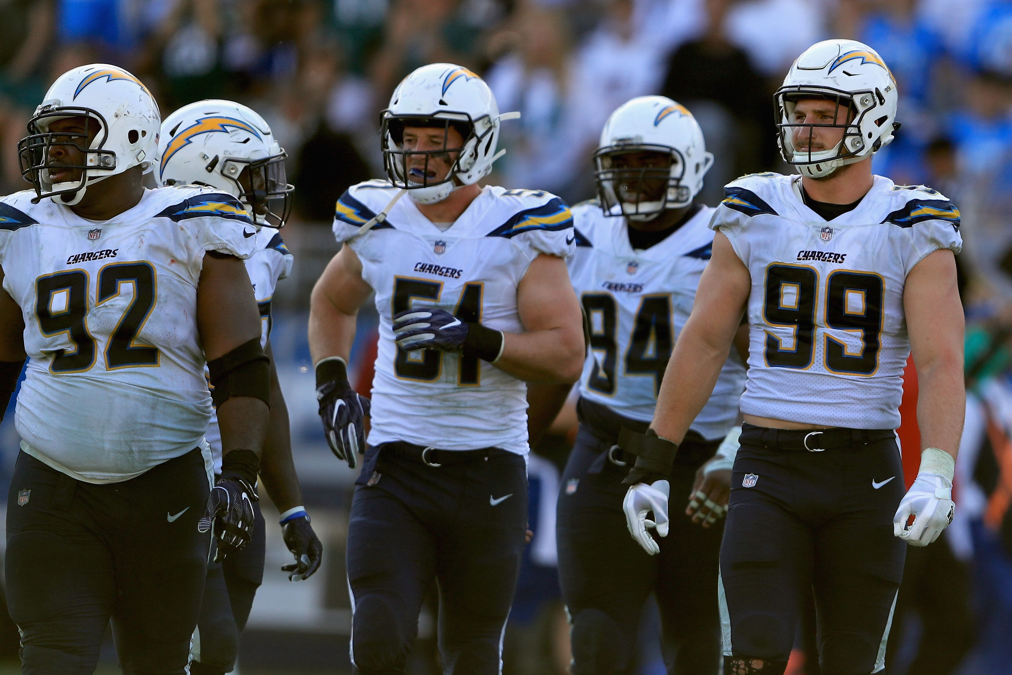 Chargers Roundtable How Should The Team Use Their First
