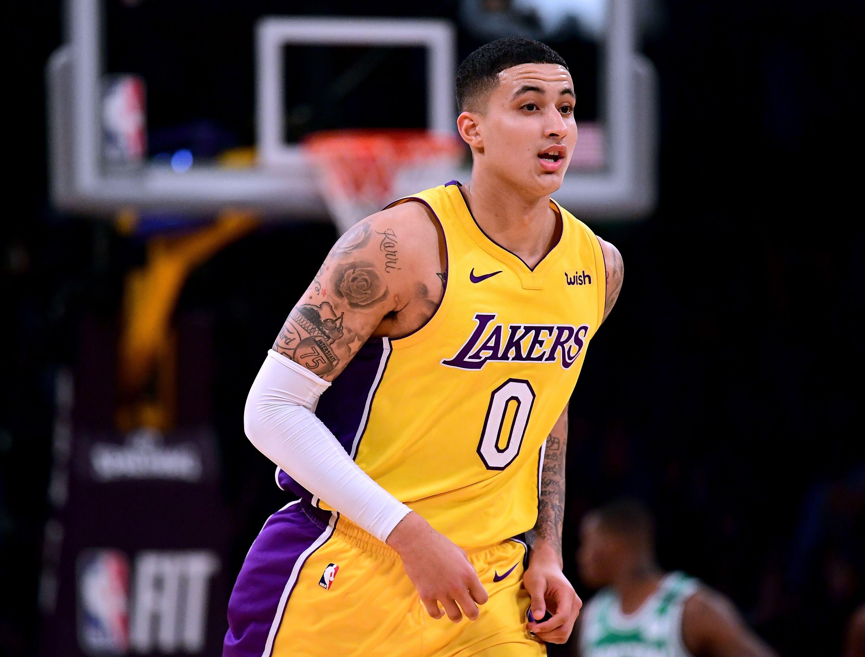 La Lakers Lonzo Ball Stats >> Lakers: Where do Lonzo Ball, Kyle Kuzma rank among the top 10 rookies?