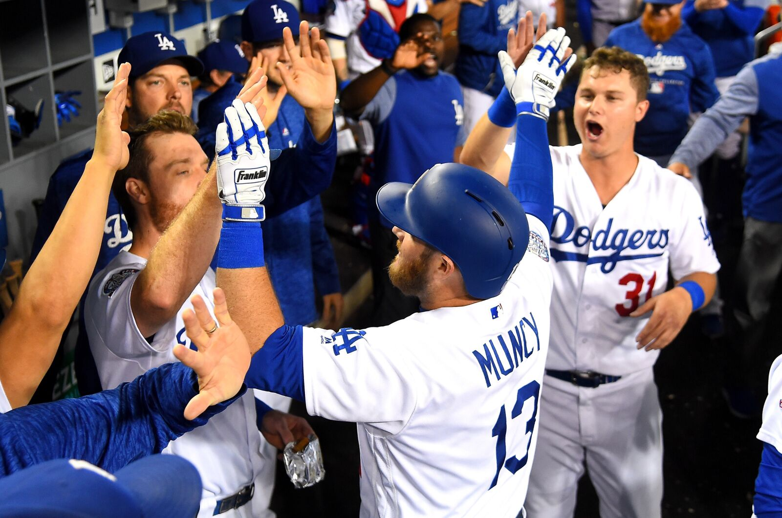 los angeles dodgers players   shock  mlb world   page