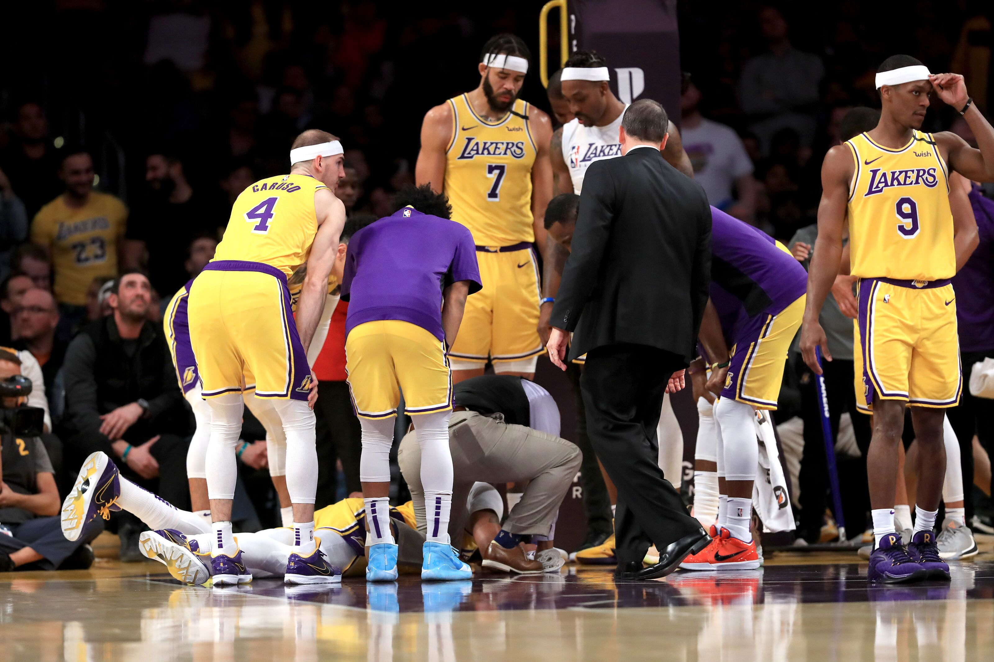 Los Angeles Lakers Anthony Davis Injury Scare Impact