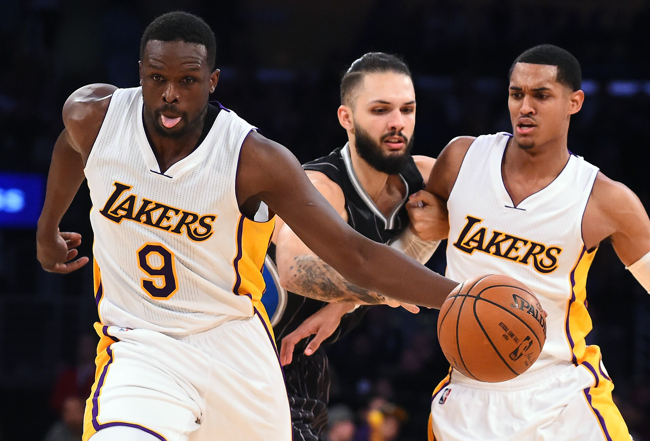 Lakers Rumors Trades that can rid of Luol Deng s terrible