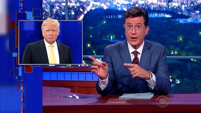 Colbert's Trump book about NC boat to be published ...